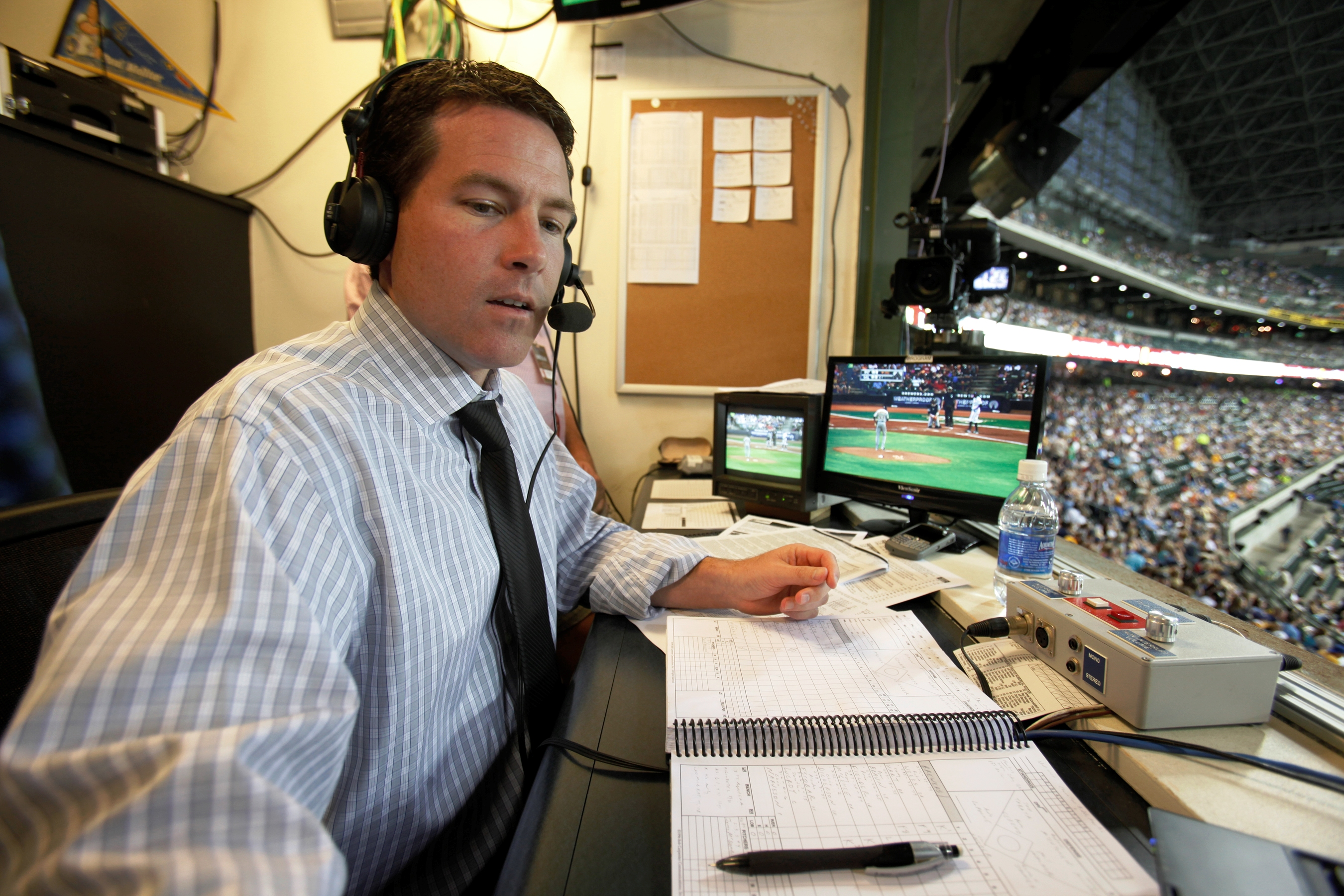 Brian Anderson will call Sunday's Dodgers-Mets game on TBS alongside analyst Ron Darling.