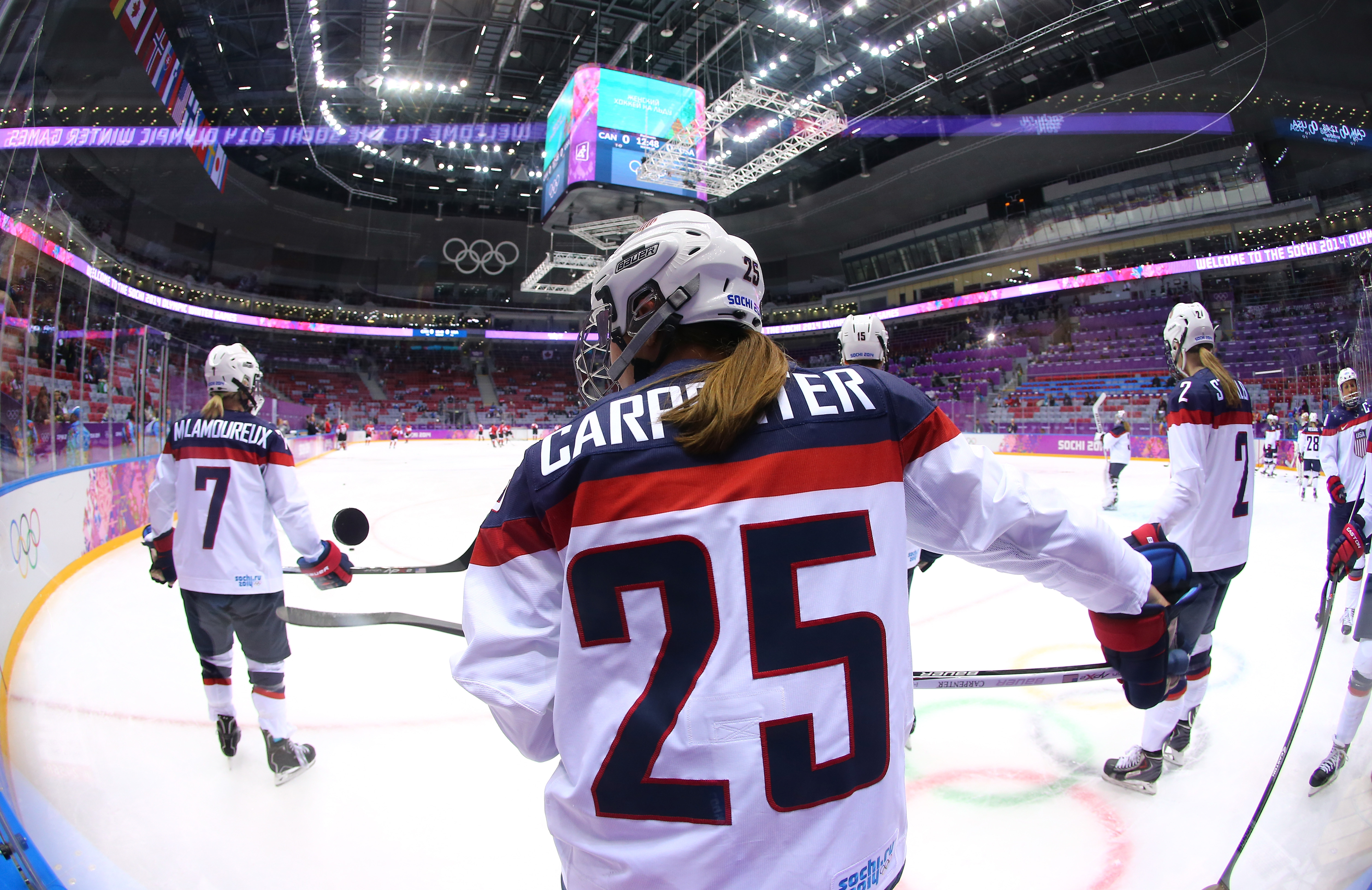 Former Boston College forward Alex Carpenter was selected No. 1 overall in the first ever NWHL Entry Draft by the New York Riveters.