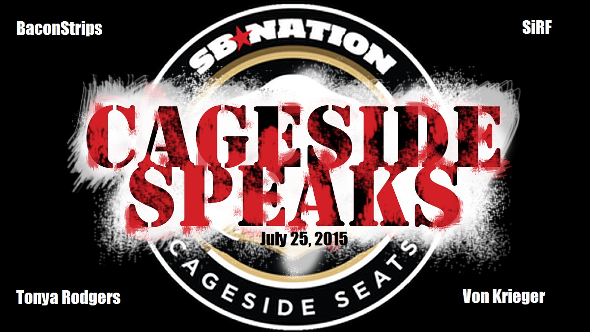 Cageside Speaks logo by TheDannyBaxter