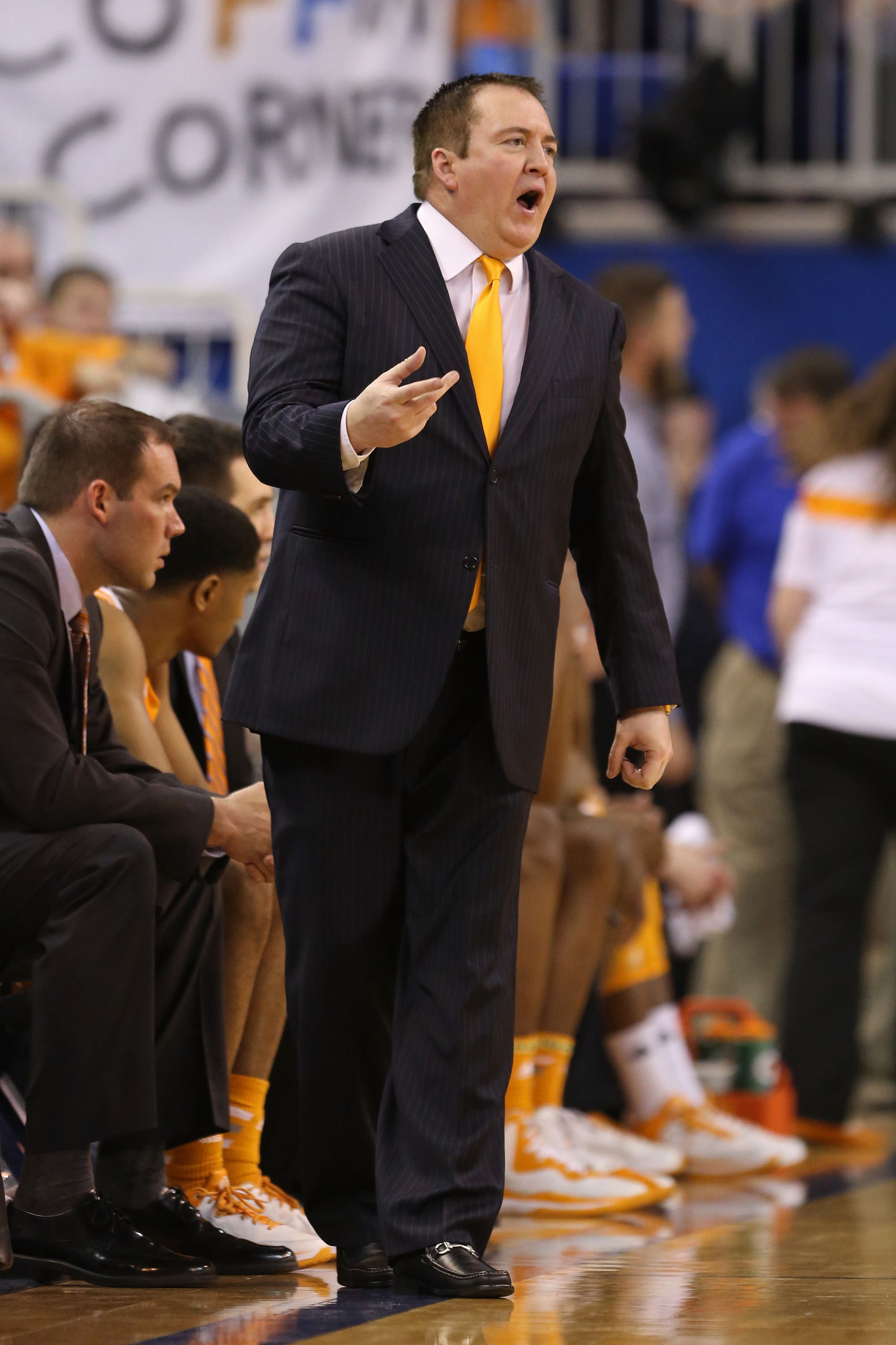 Donnie Tyndall, probably cheating at something.