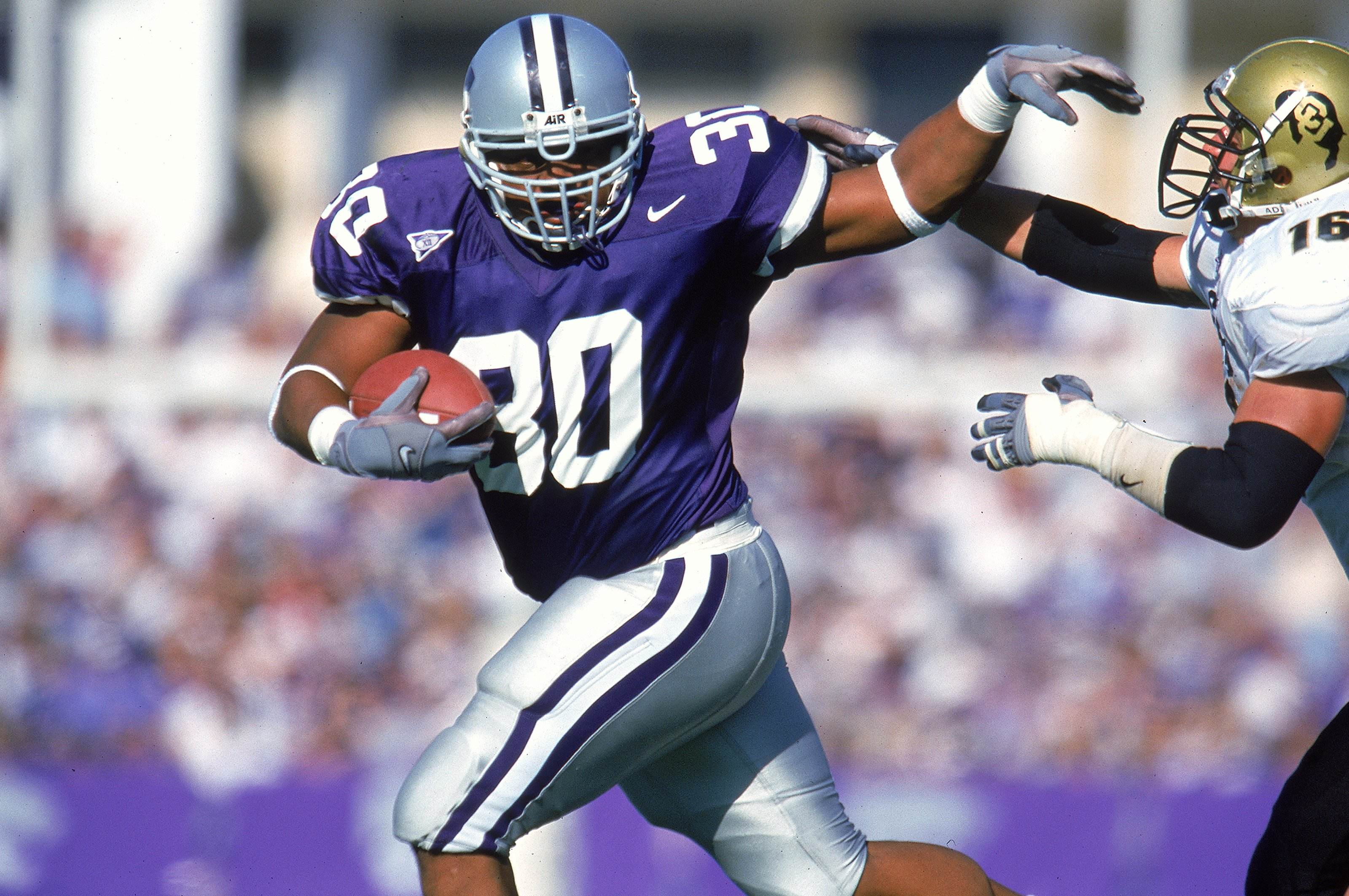 Winston Dimel runs the ball really well for a fullback. Anyone else think he could turn into a second version of this big guy?