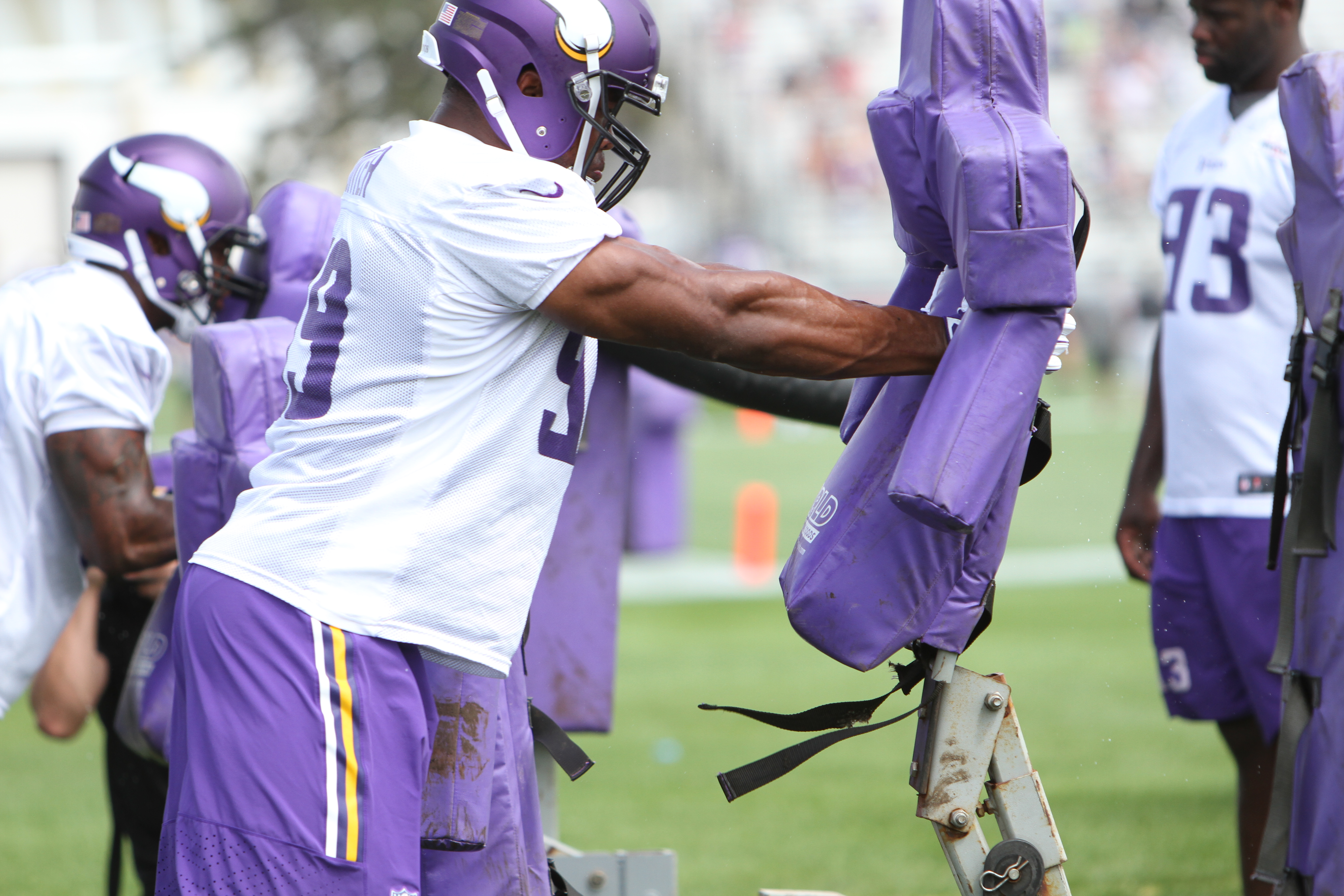 This picture of Danielle Hunter is especially for Di.