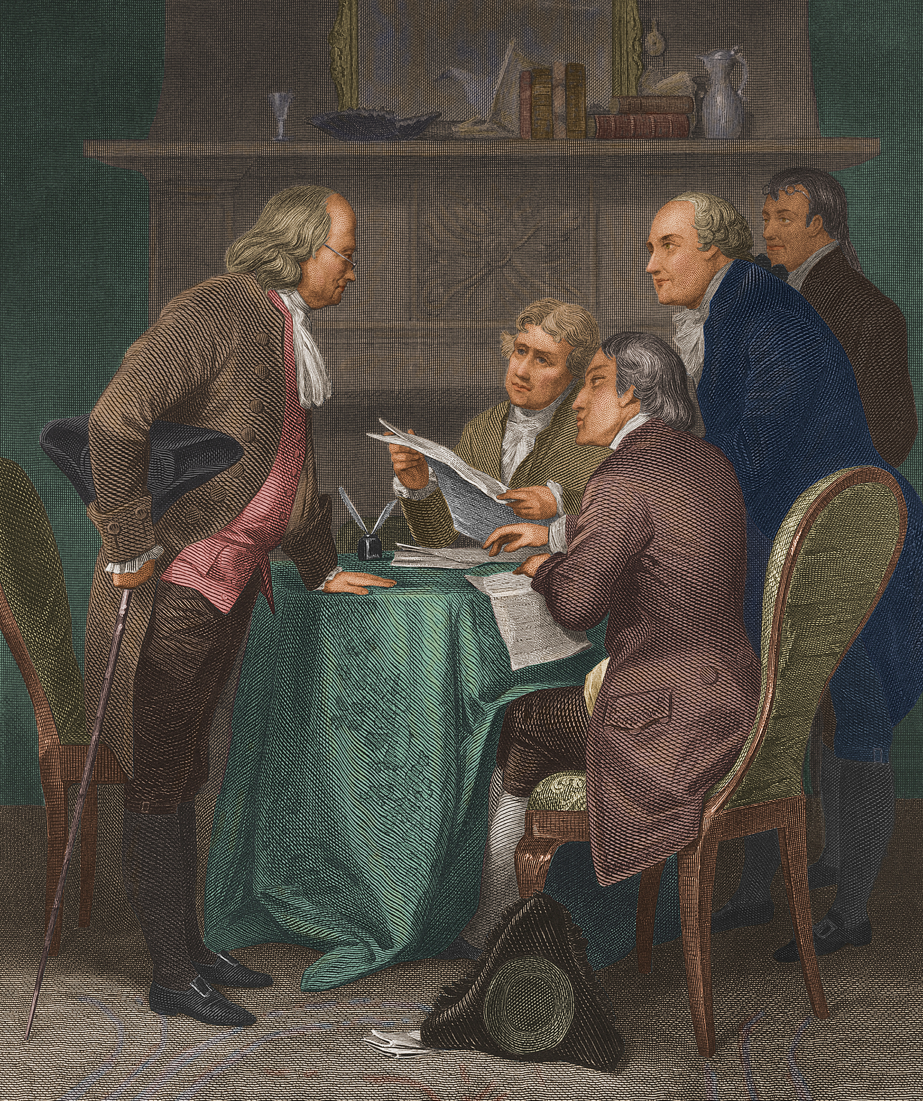 They had printing presses in 1776. So why was the Declaration of Independence handwritten?