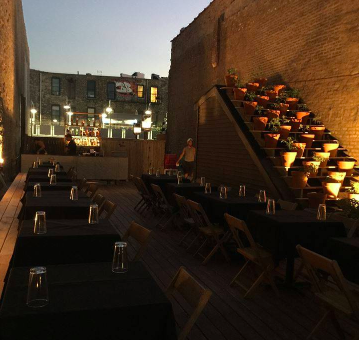 Taxim's new rooftop