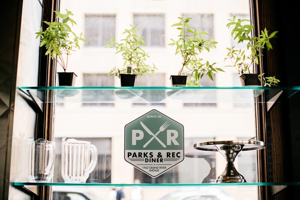Parks & Rec Diner.