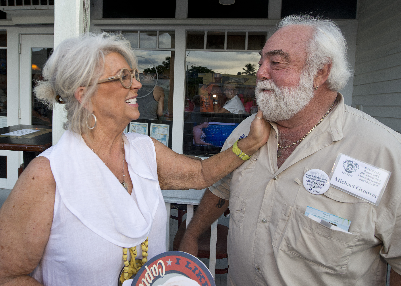 Paula Deen and husband Michael Groover.