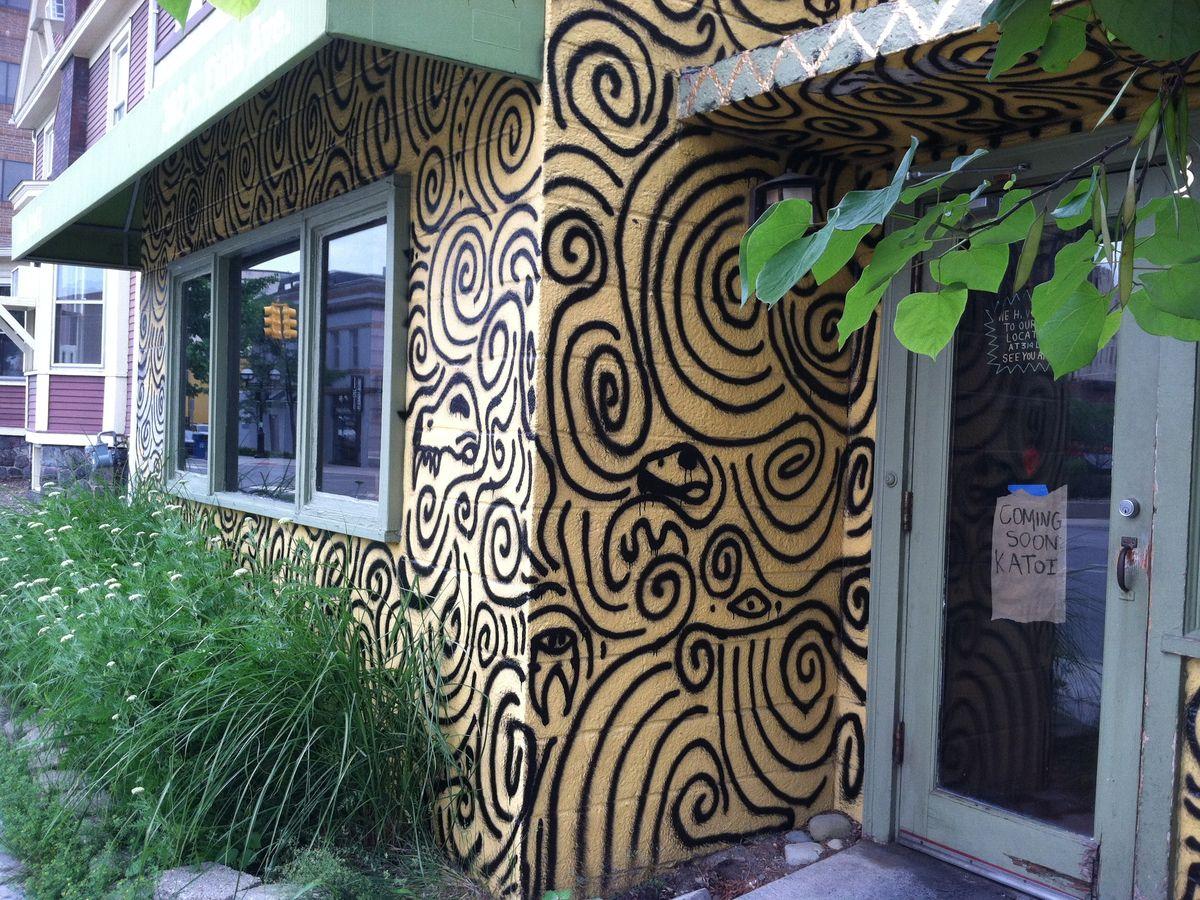 Katoi's Ann Arbor pop-up restaurant.