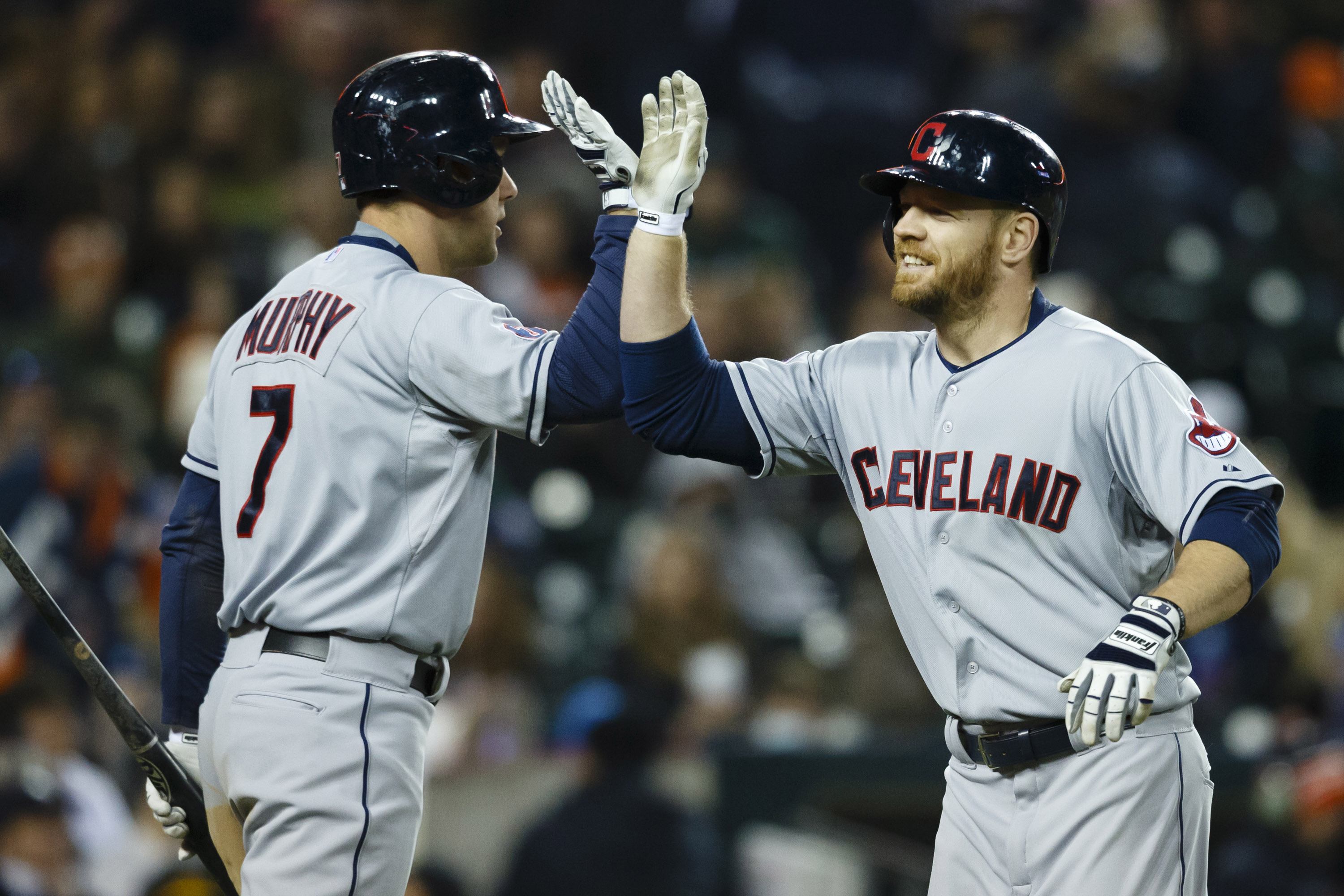 David Murphy and Brandon Moss, Indians no more. WIll anyone else be leaving the Tribe today?