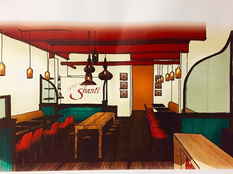 A rendering of Shanti Cambridge