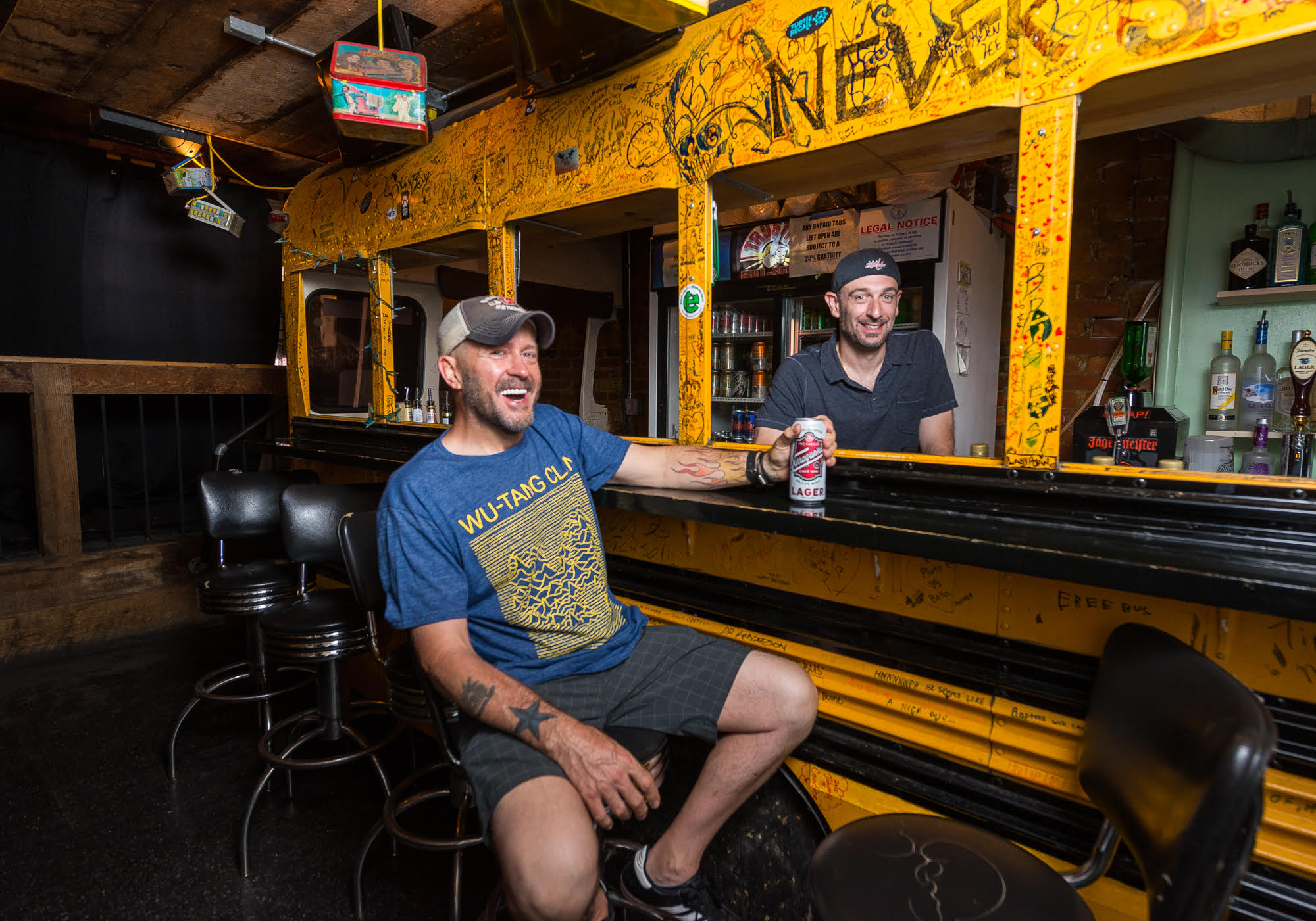 Mark Menard and Mike Schuster of Trusty's