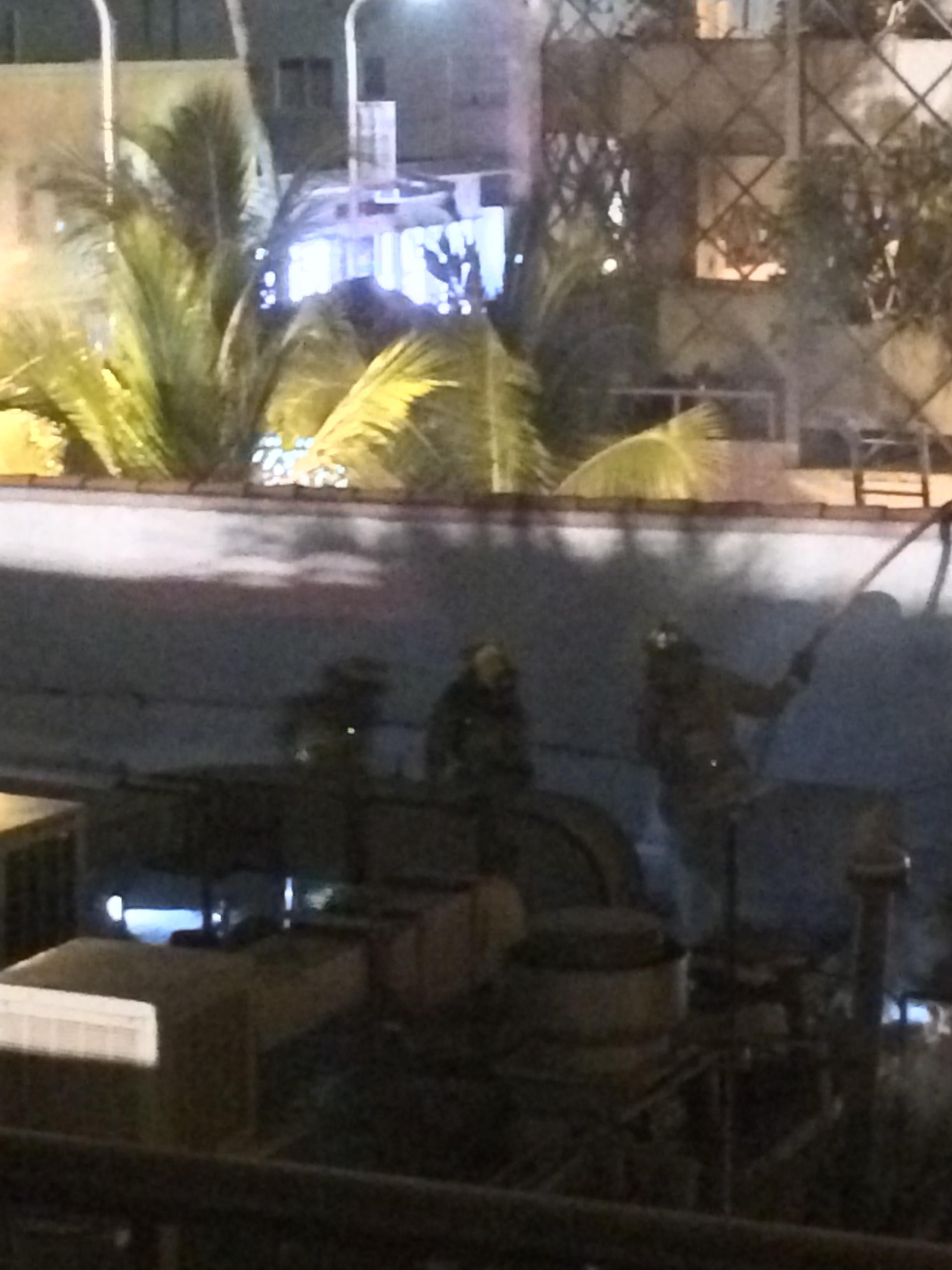 Puerto Sagua Restaurant fire