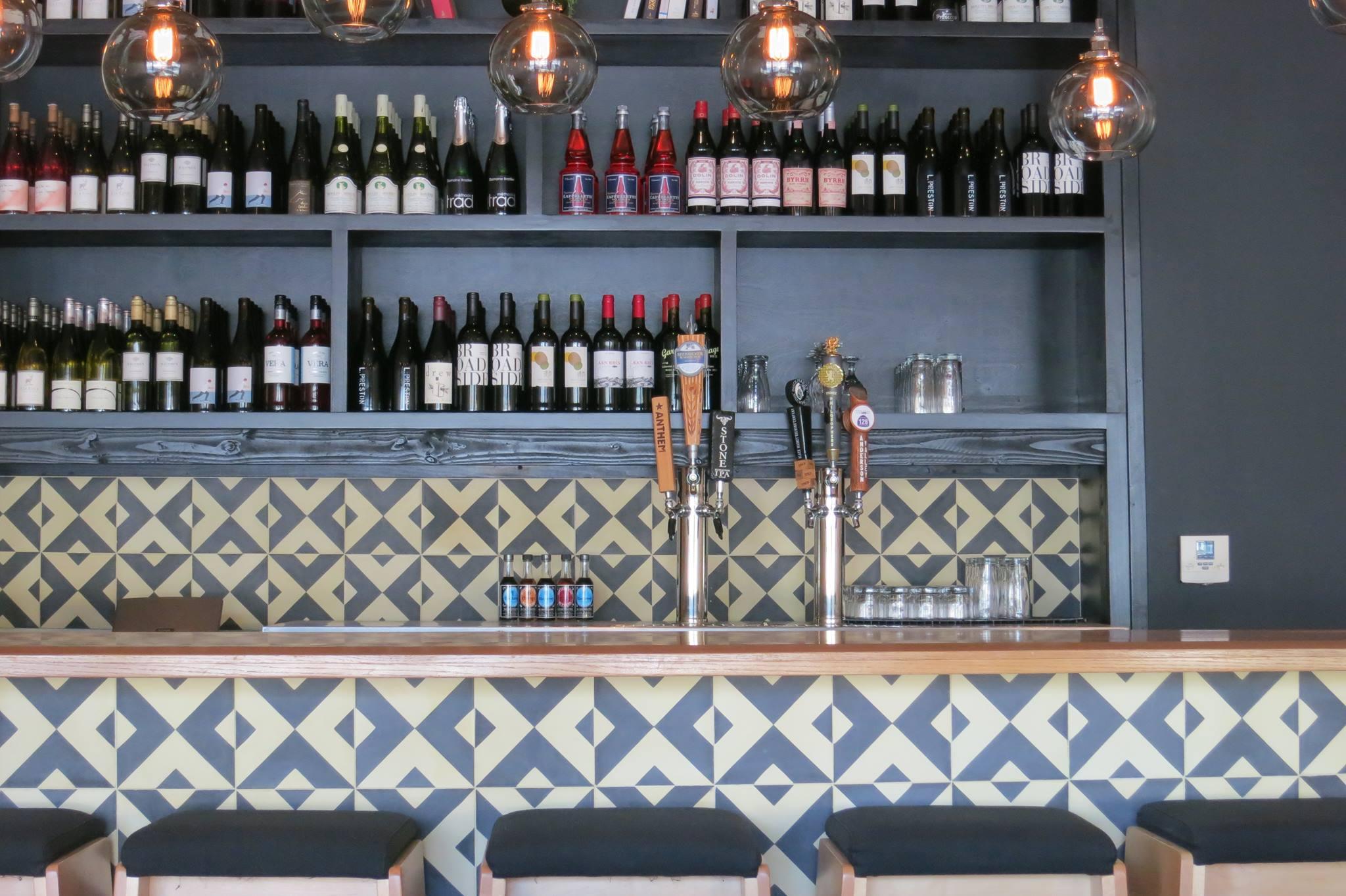 The bar at Black Hogg, Silver Lake