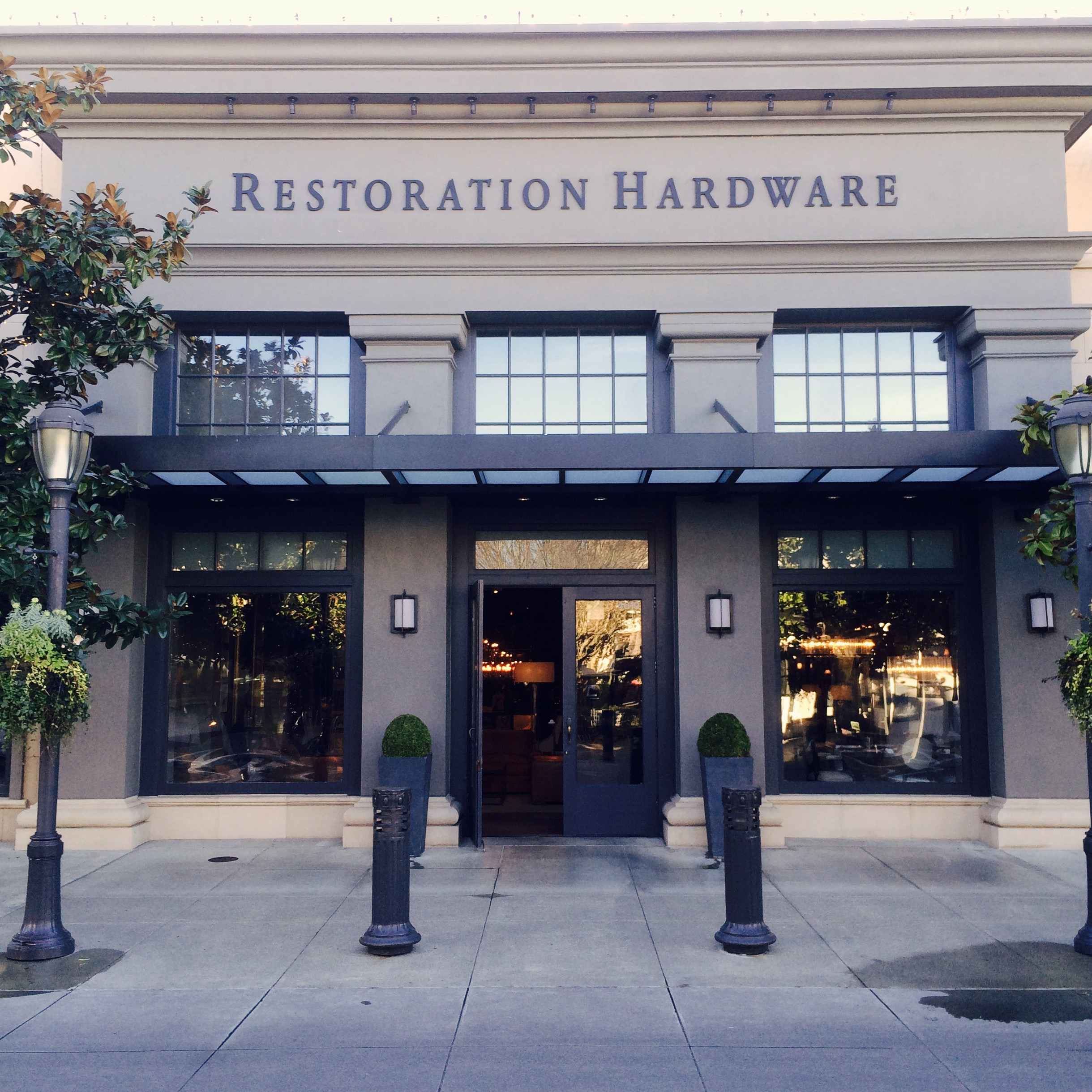 Cabinet hardware stores in seattle for Restoration hardware online shopping