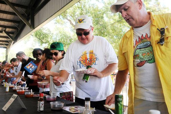 The Chronicle's Hot Sauce Festival in 2014