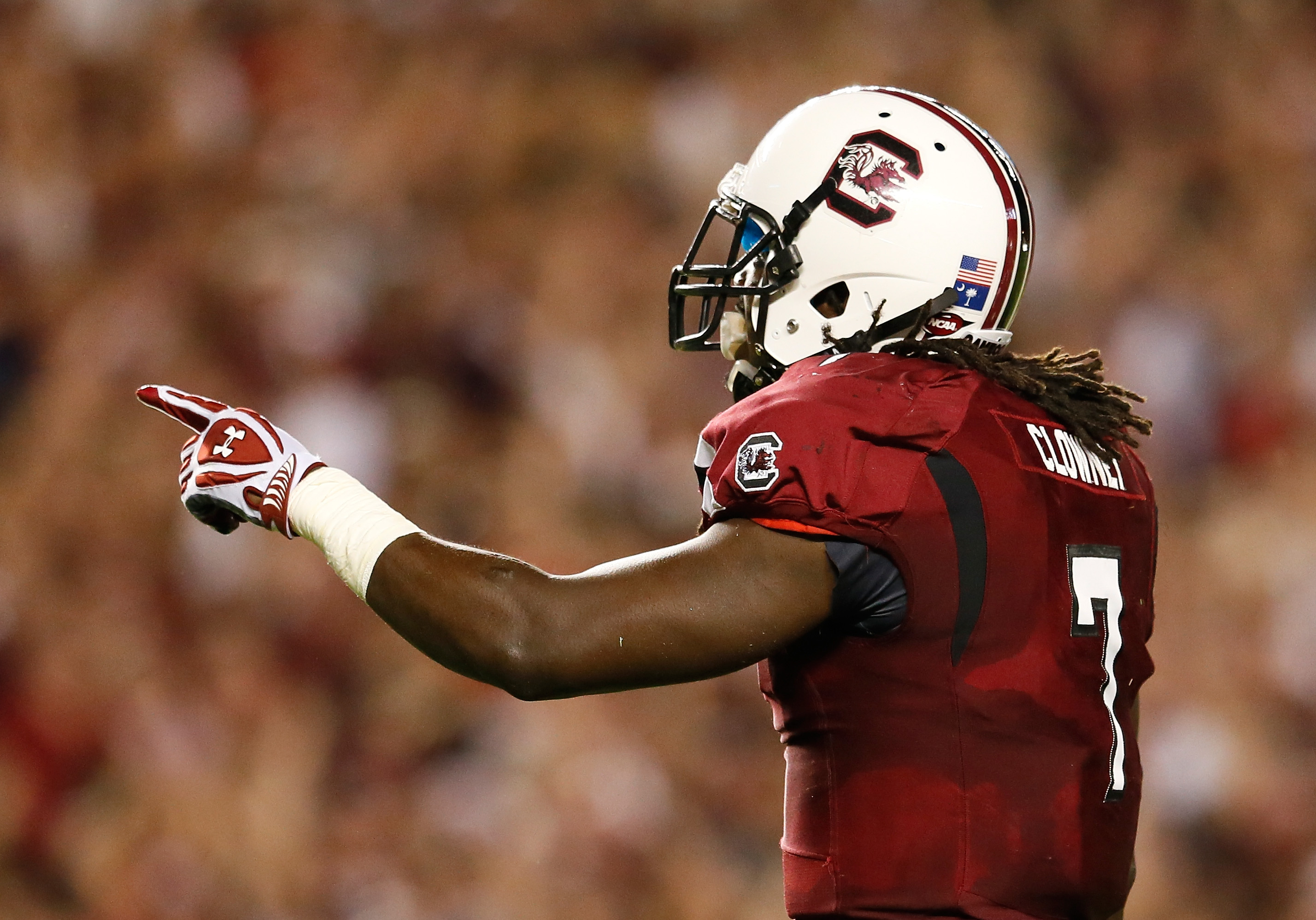 UGA had absolutely no chance to stop our man JD Clowney from wrecking havoc