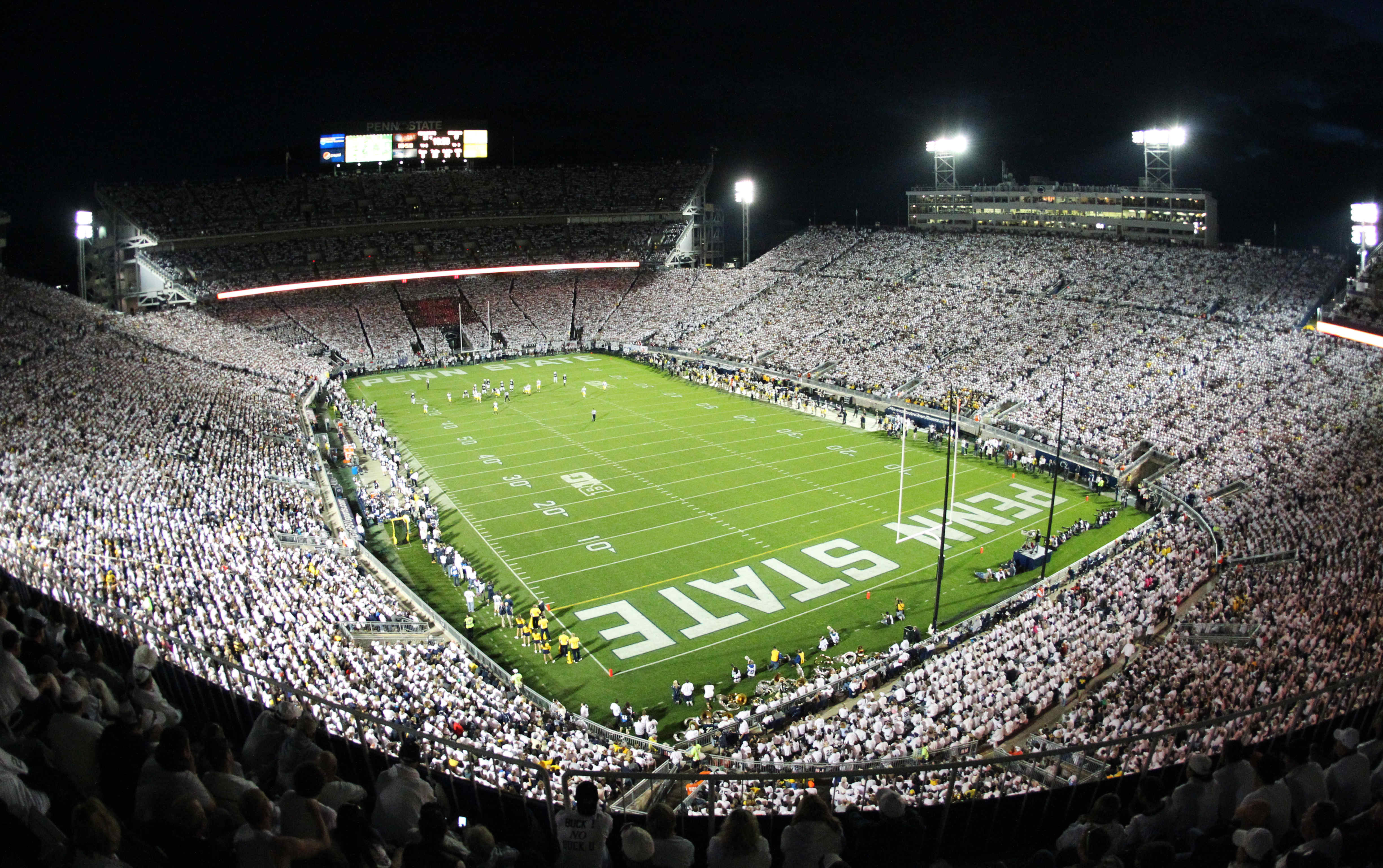 The Whiteout, one of the best traditions in college football