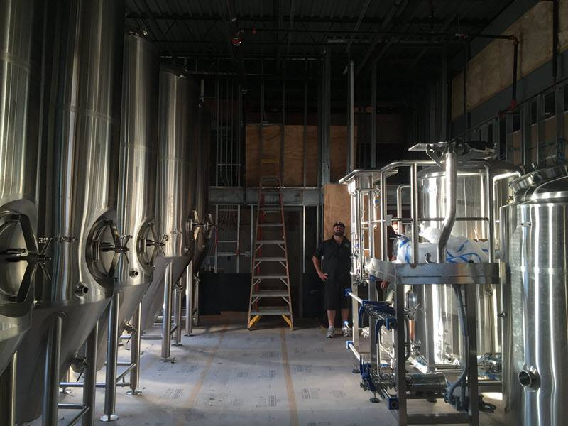Pinthouse Pizza on South Lamar's new tanks
