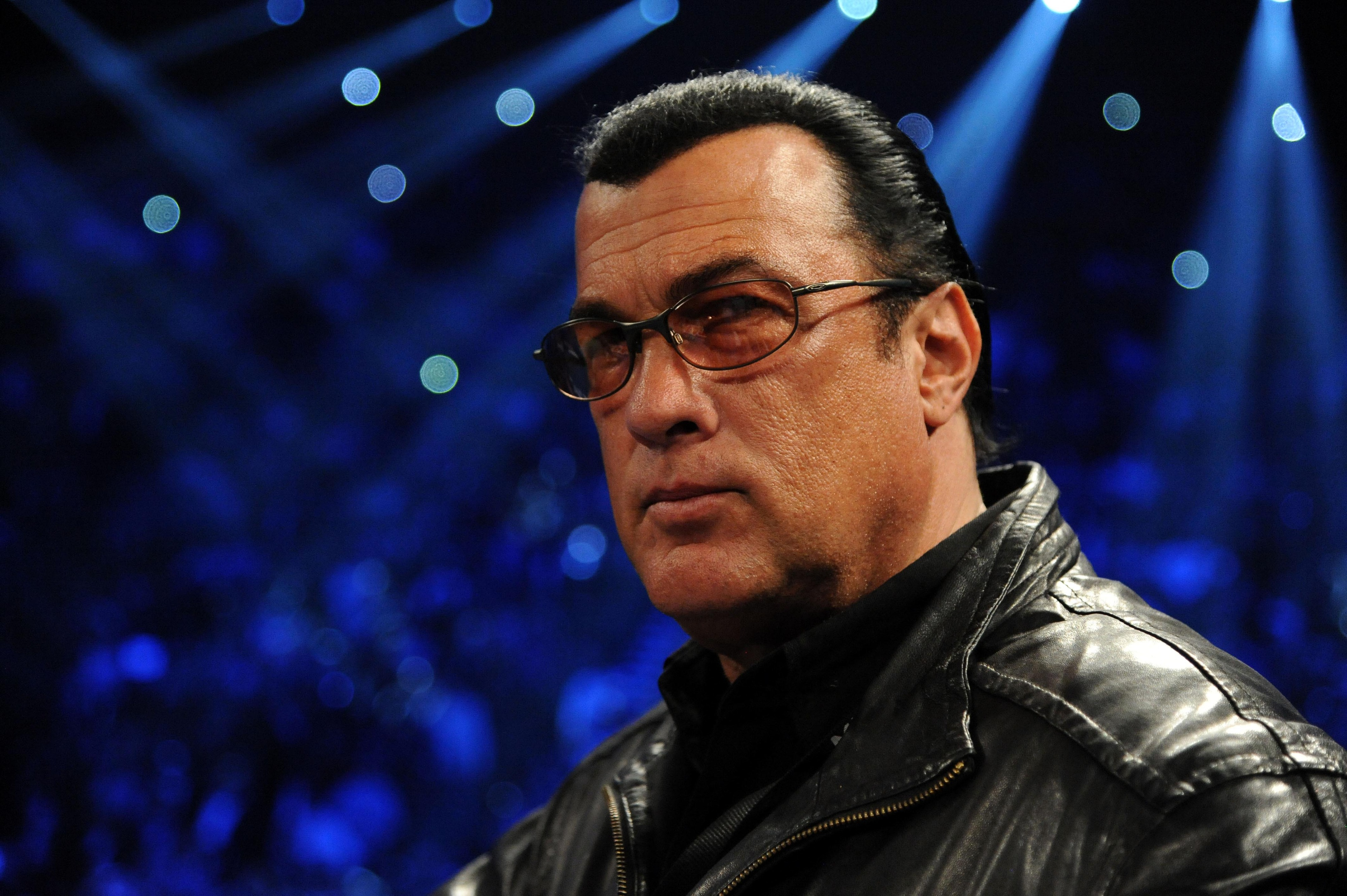 MMA hanger on Steven Seagal skipped the UFC for Pacquiao vs Marquez last night.