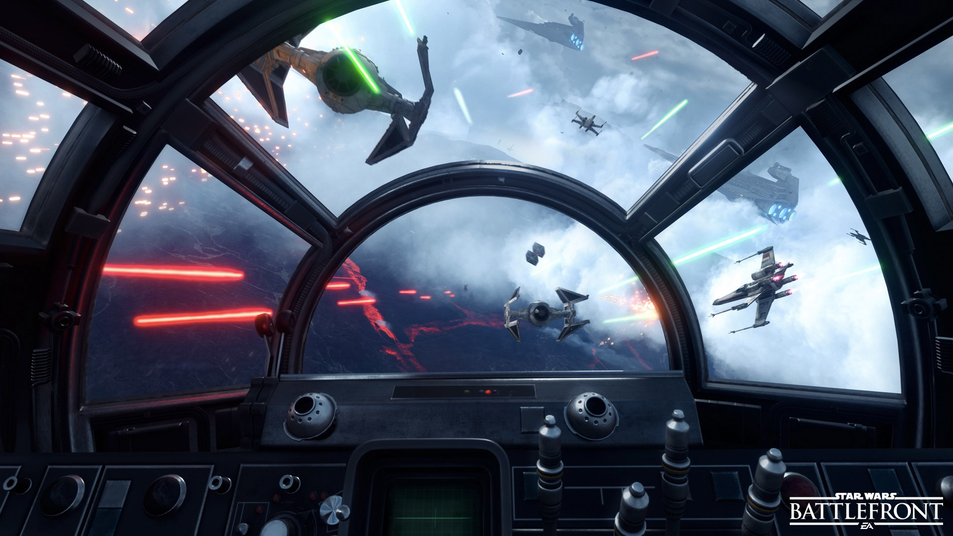 We played Star Wars Battlefront's new Fighter Squadron mode