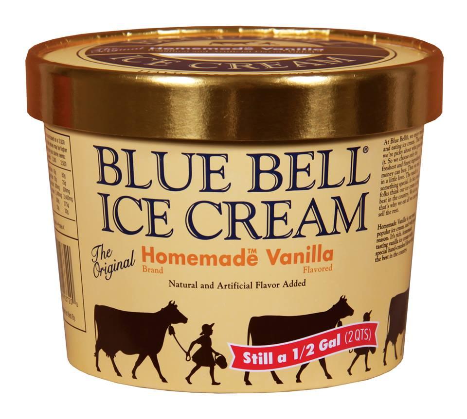 Blue Bell Ice Cream - Homemade Vanilla