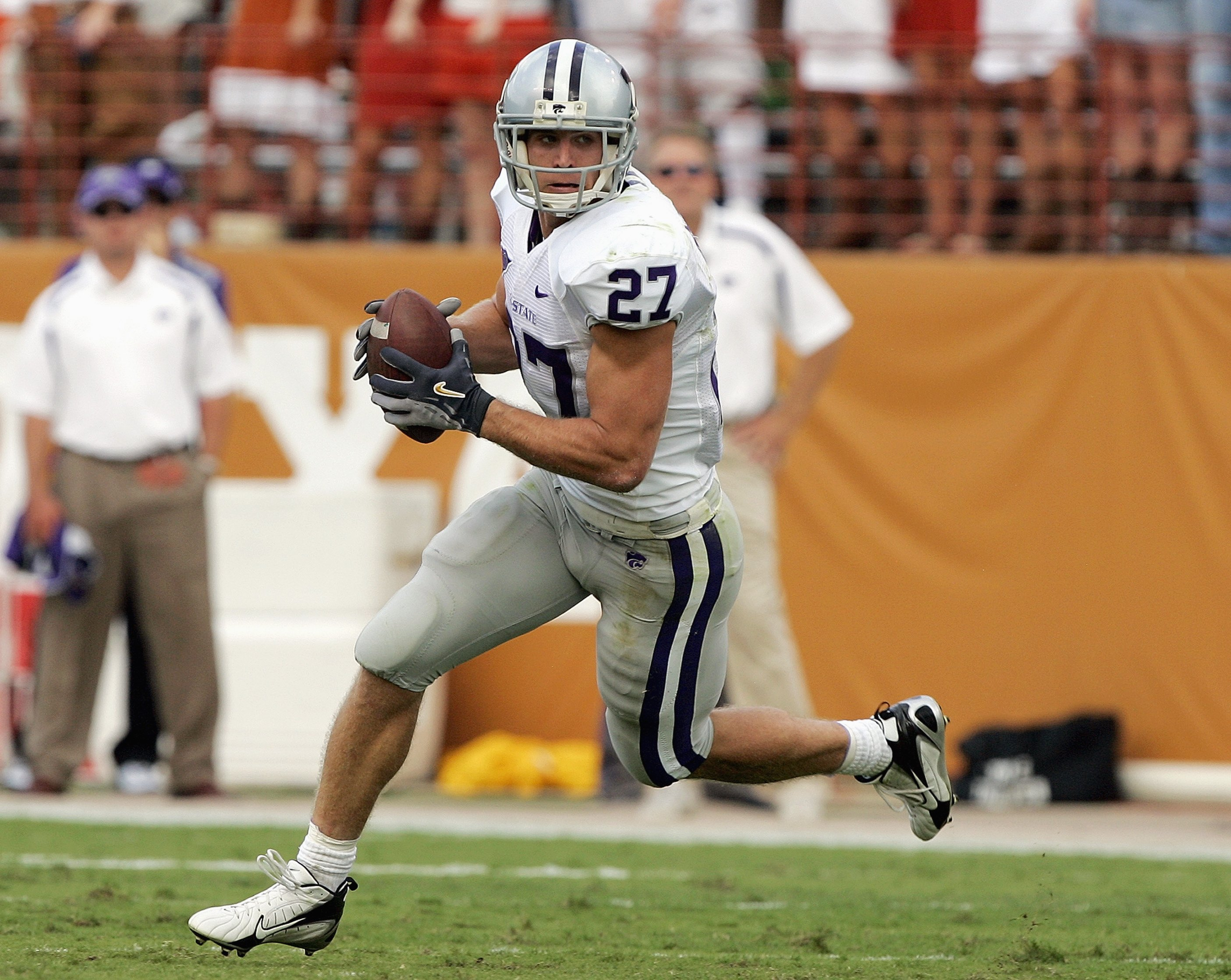 Don't be confused: Tanner Langvardt is no Jordy Nelson. But who else do you think of when No. 27 comes up?