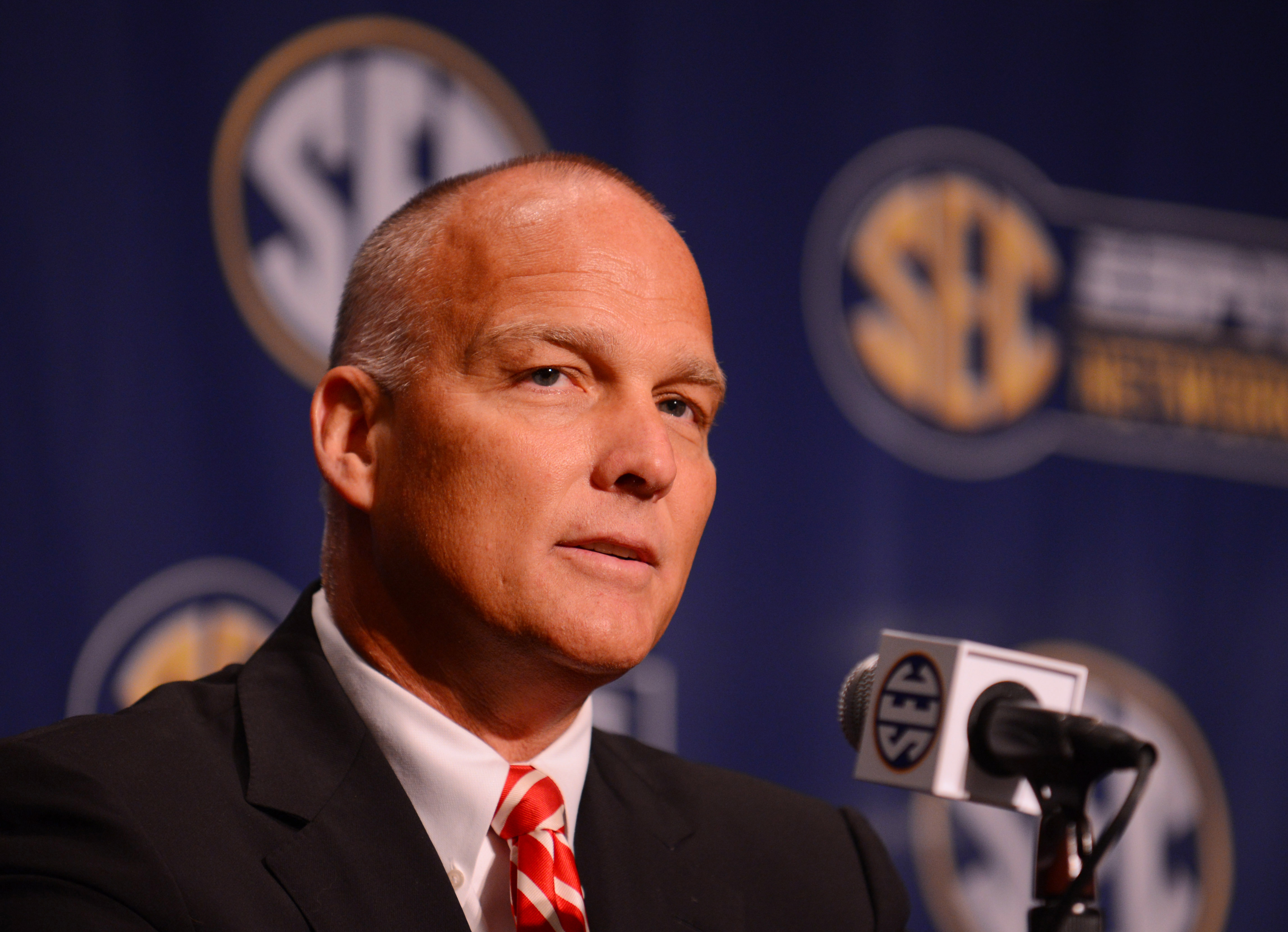 MARK RICHT'S DISAPPROVAL FACE