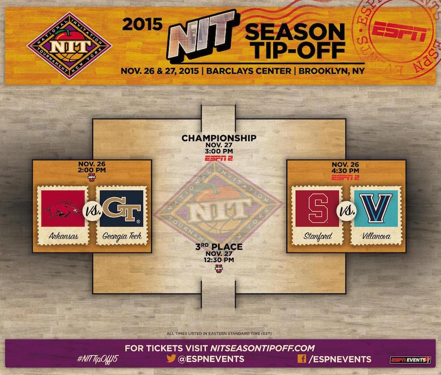 The 2015 NIT Season Tip-Off bracket
