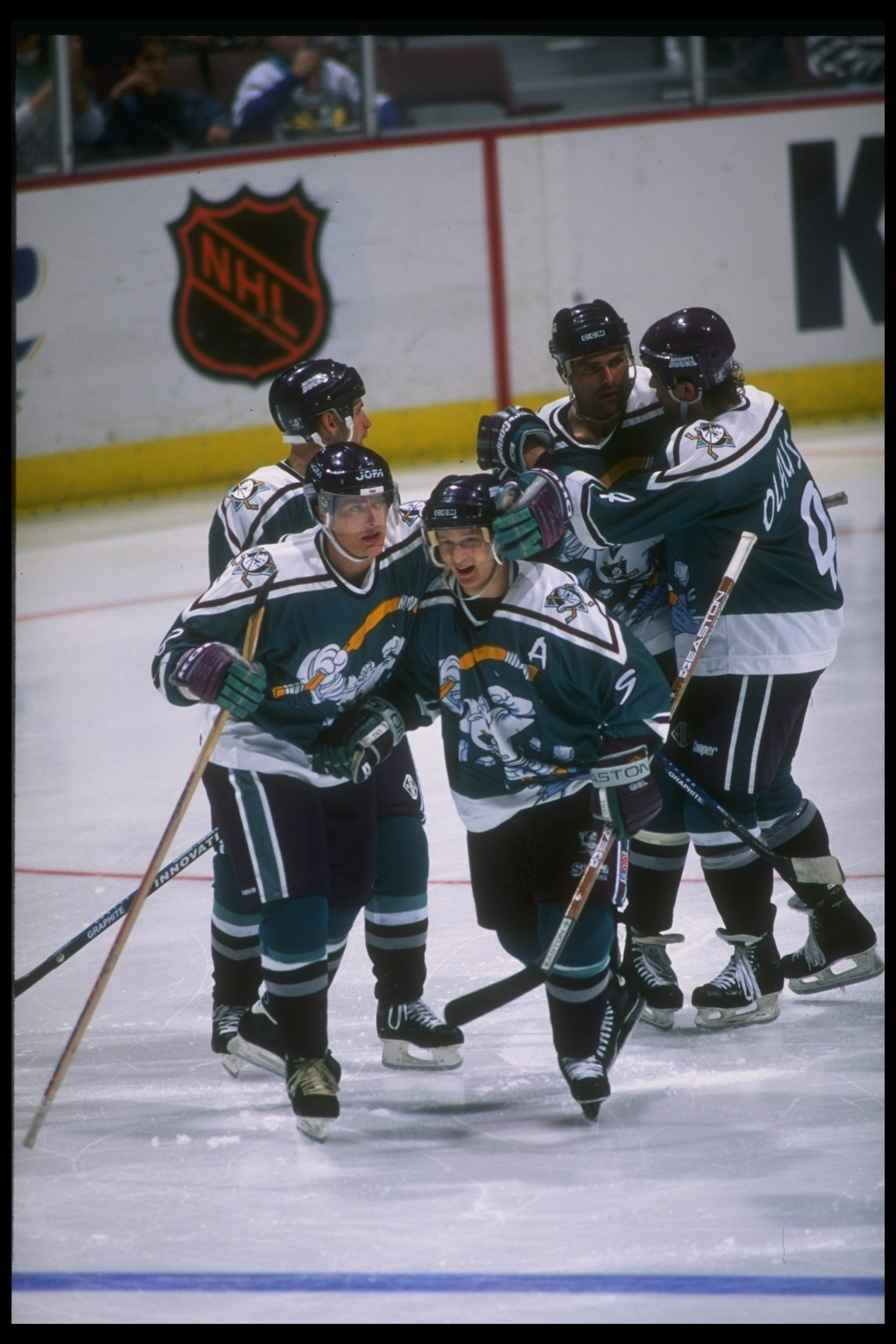 The Ducks look has come a long way since the first 'Wild Wing' alternate.