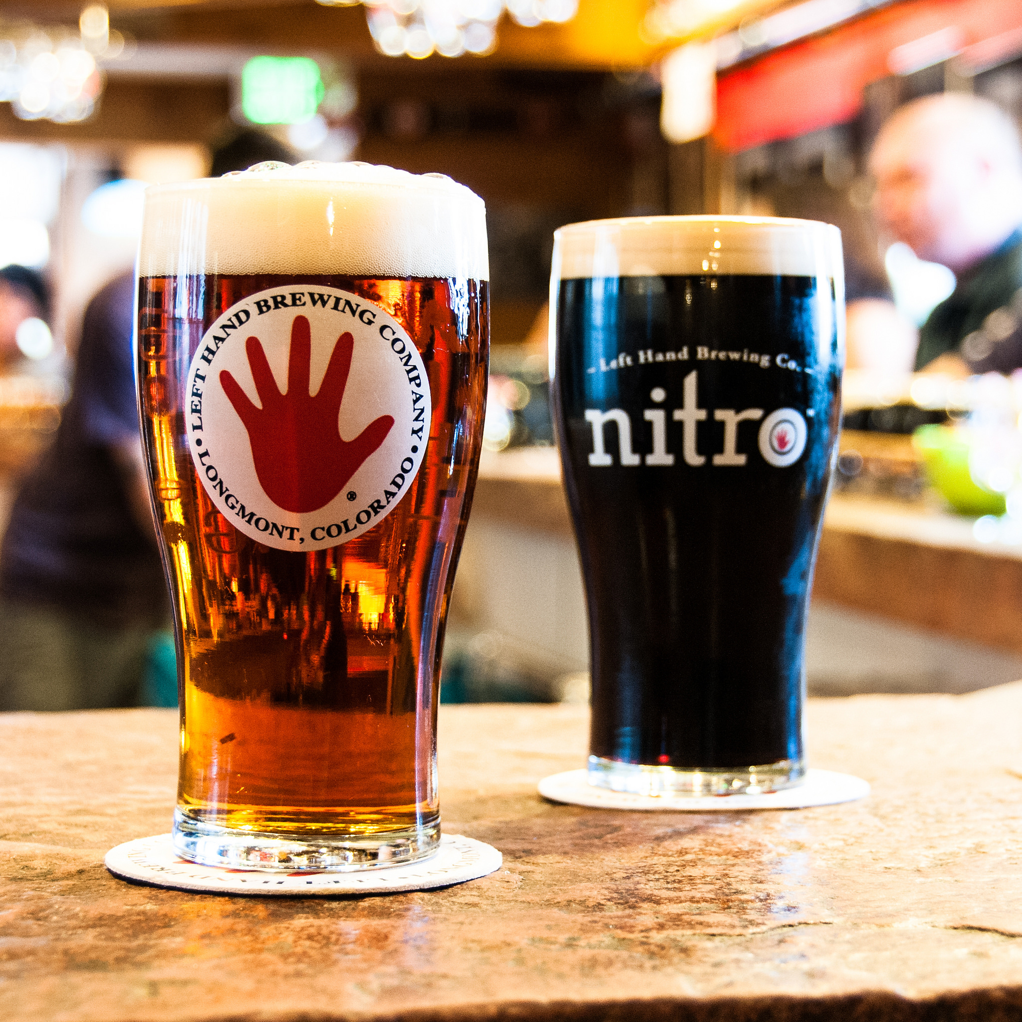 The Nitro brews of Left Hand Brewing Co. are headed to a shelf in Nevada soon.