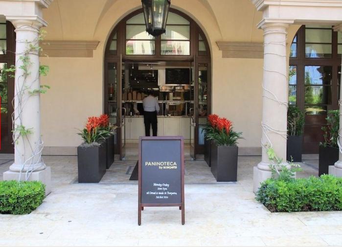 Paninoteca at Scarpetta, Beverly Hills