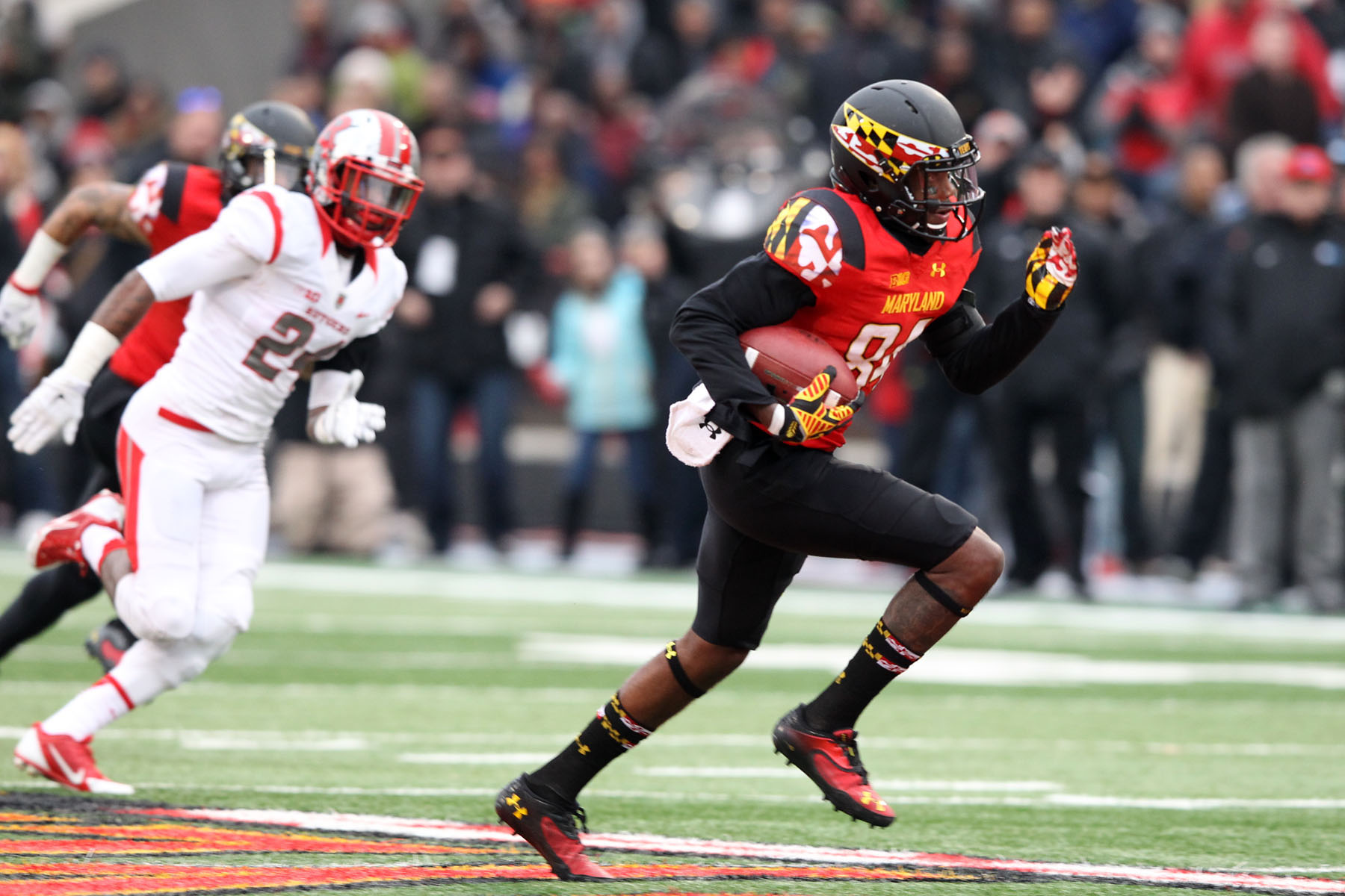 Amba Etta-Tawo was targeted on 6.4 percent of Maryland passes in 2014 – the most of any returning Terrapin.