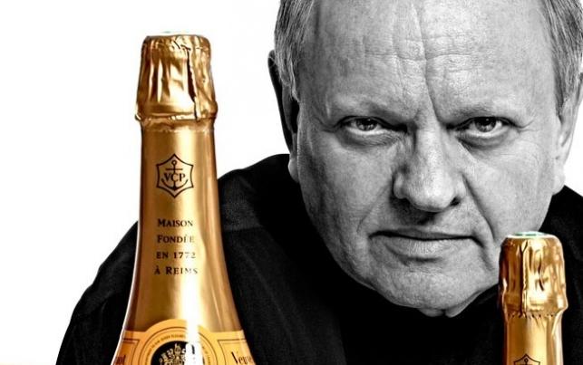 Joël Robuchon Veuve Clicquot Campaign