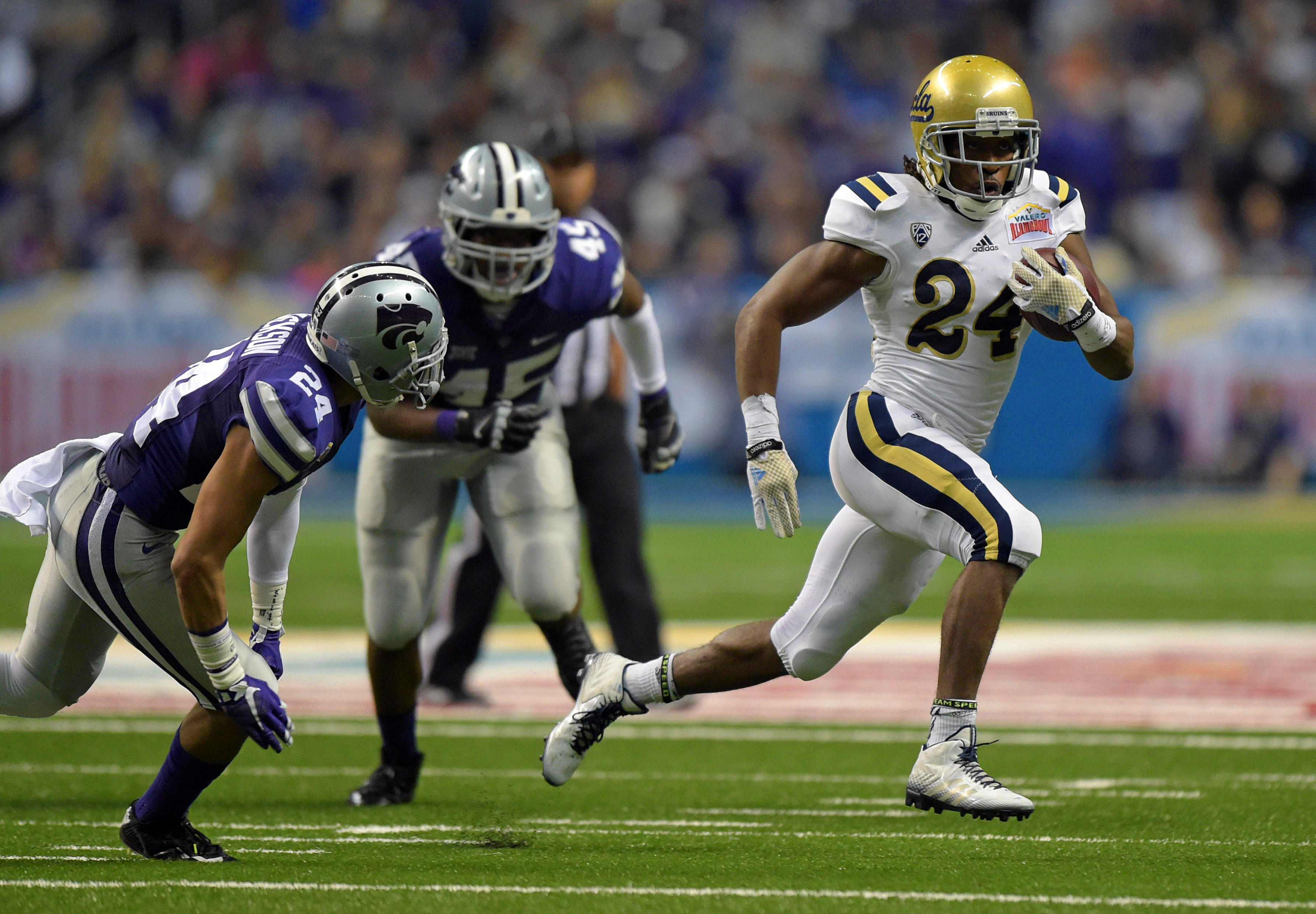 After serving as K-State's primary reserve cornerback in 2014, Nate Jackson is working toward bigger things following his start against UCLA in the Alamo Bowl.