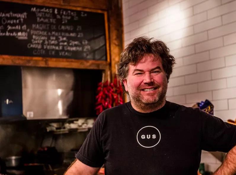 Gus chef-owner David Ferguson