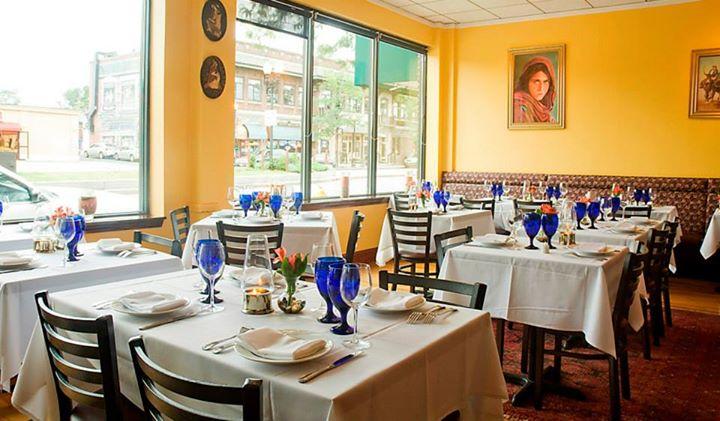 The original Ariana Restaurant in Allston