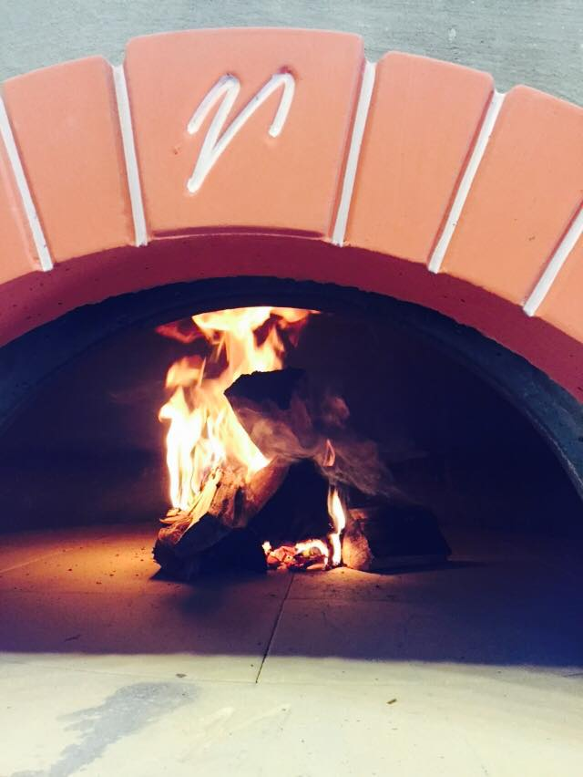Ciao PIzza & Pasta's first fire in its new oven