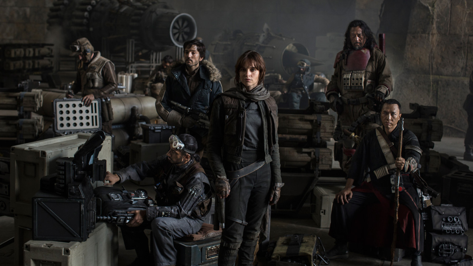 First look at full cast of Star Wars: Rogue One reveals Mads Mikkelsen and Alan Tudyk