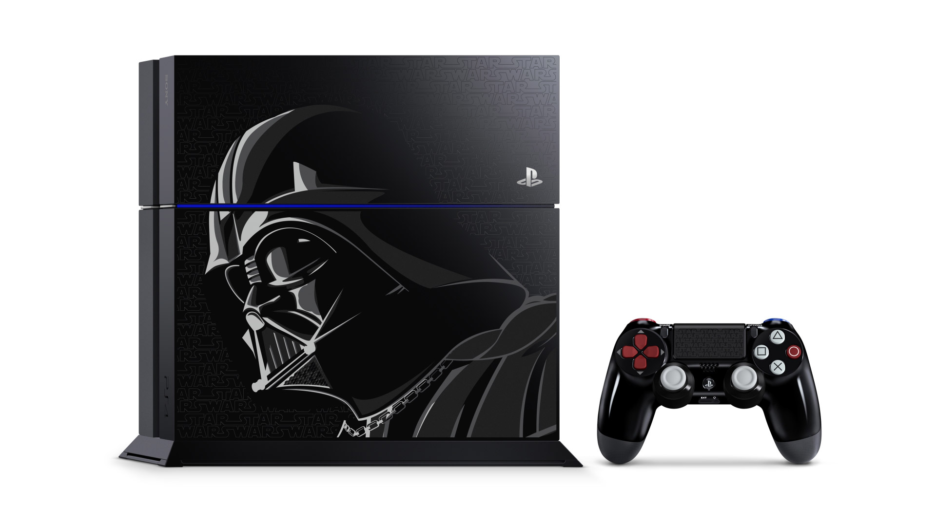 Darth Vader-inspired PS4 and DualShock 4 coming this year