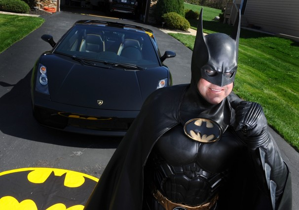 Batman pulled over by cops in viral video dies in highway crash