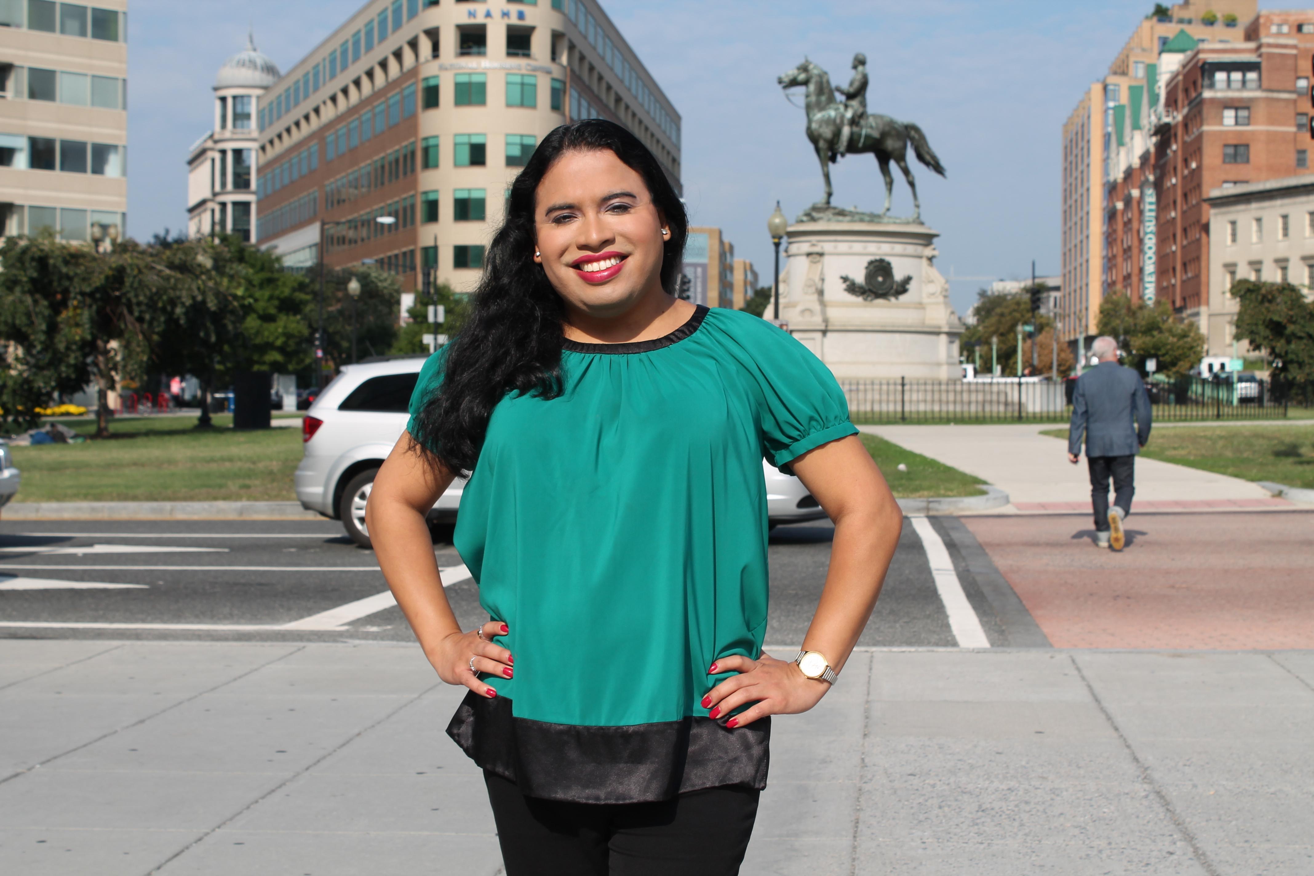 Raffi Freedman-Gurspan, the first openly transgender White House staffer.