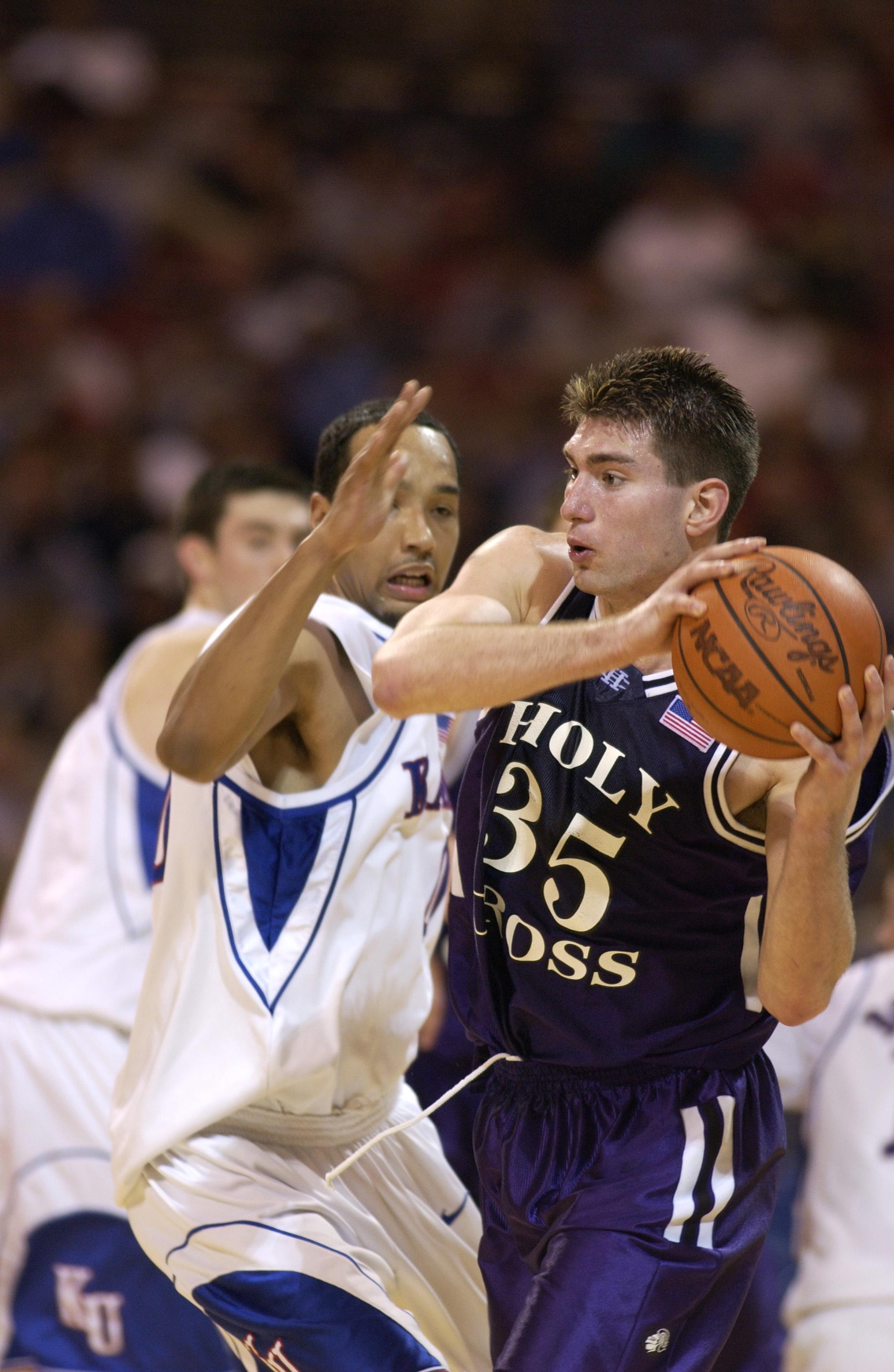 Tim Szatko scored 13 points against Drew Gooden and Kansas in the 2002 NCAA Tournament