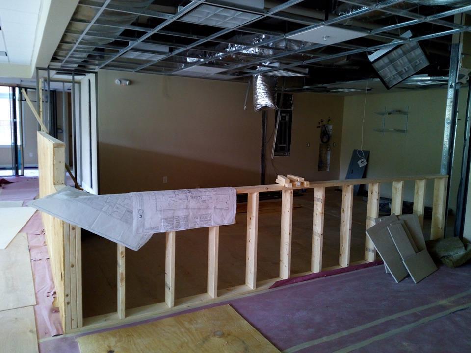 Italia di Gusto under construction in Medford last month