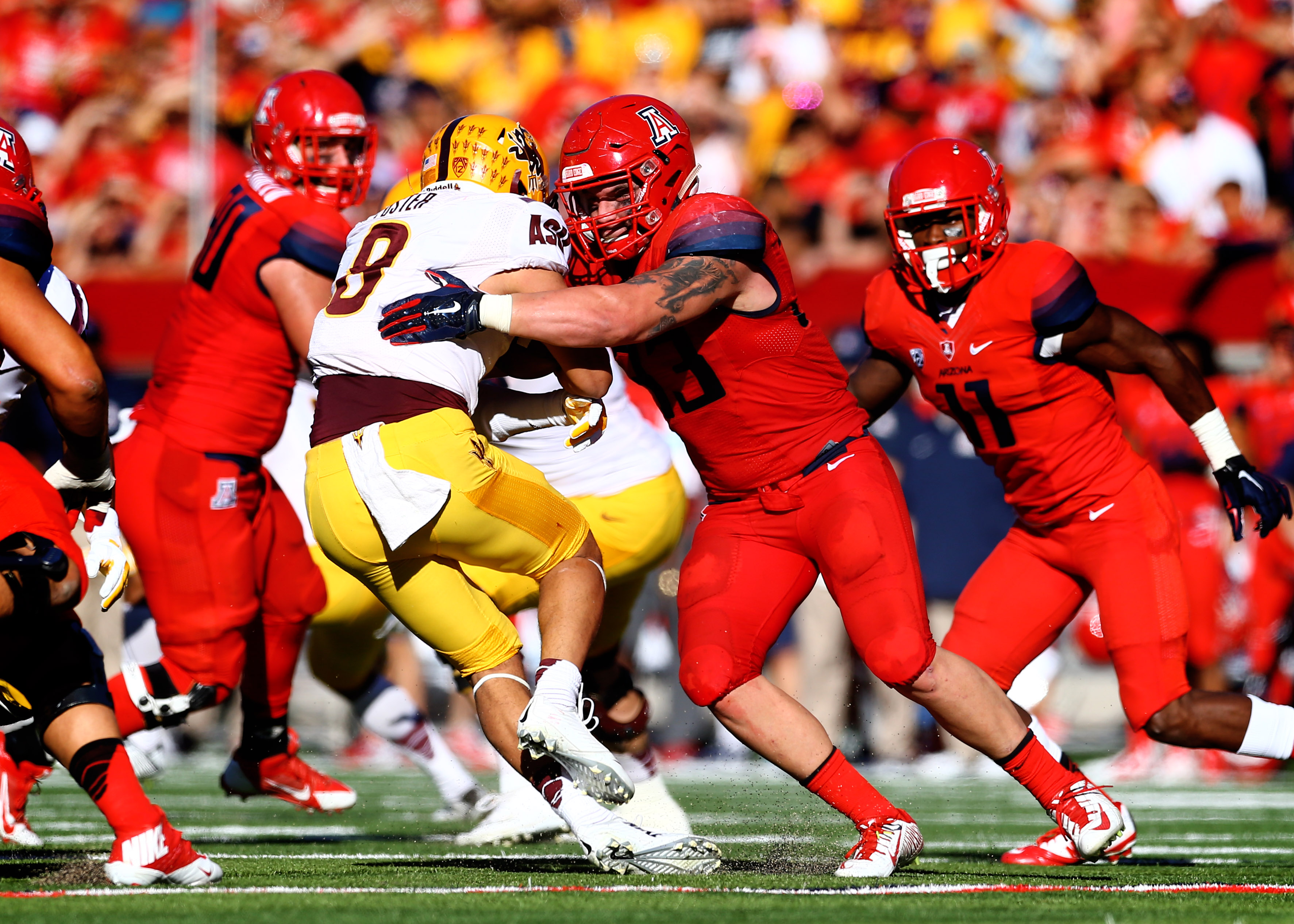 Scooby Wright III is one of the best linebackers, wait, make that - players in the conference, wait, make that - the entire country.