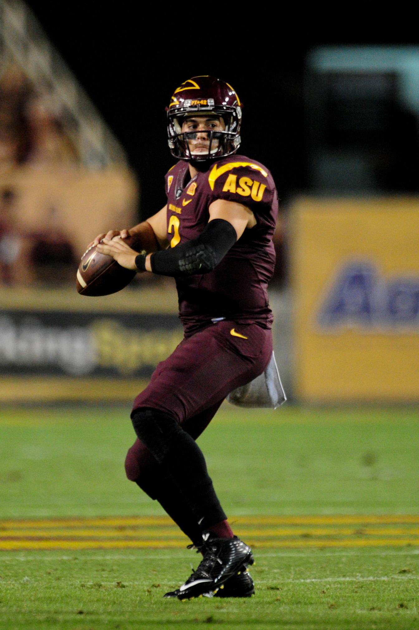 Some schools struggle to replace great quarterbacks, but ASU has Mike Bercovici.