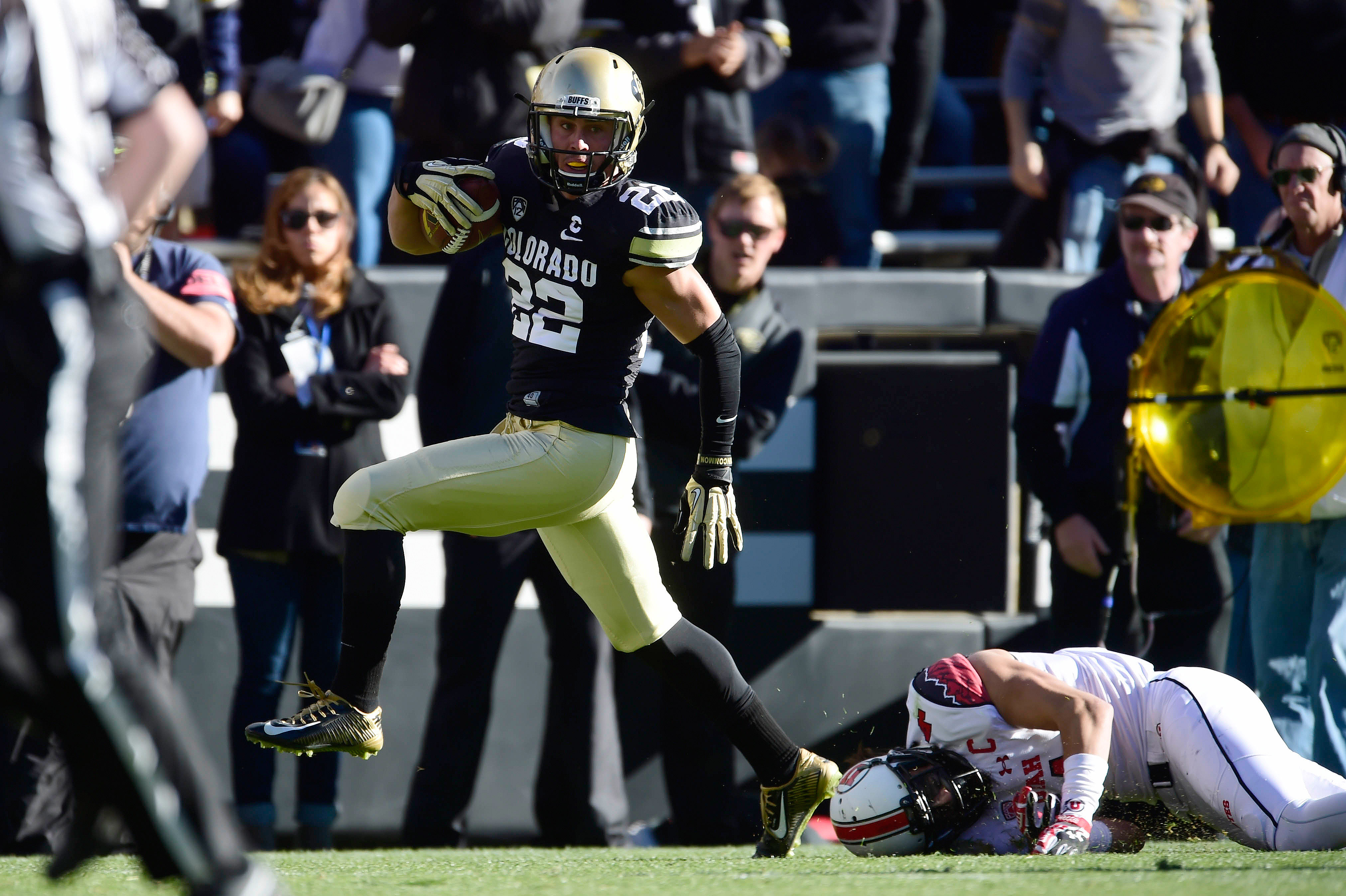 Nelson Spruce led the Pac-12 conference in catches in 2014