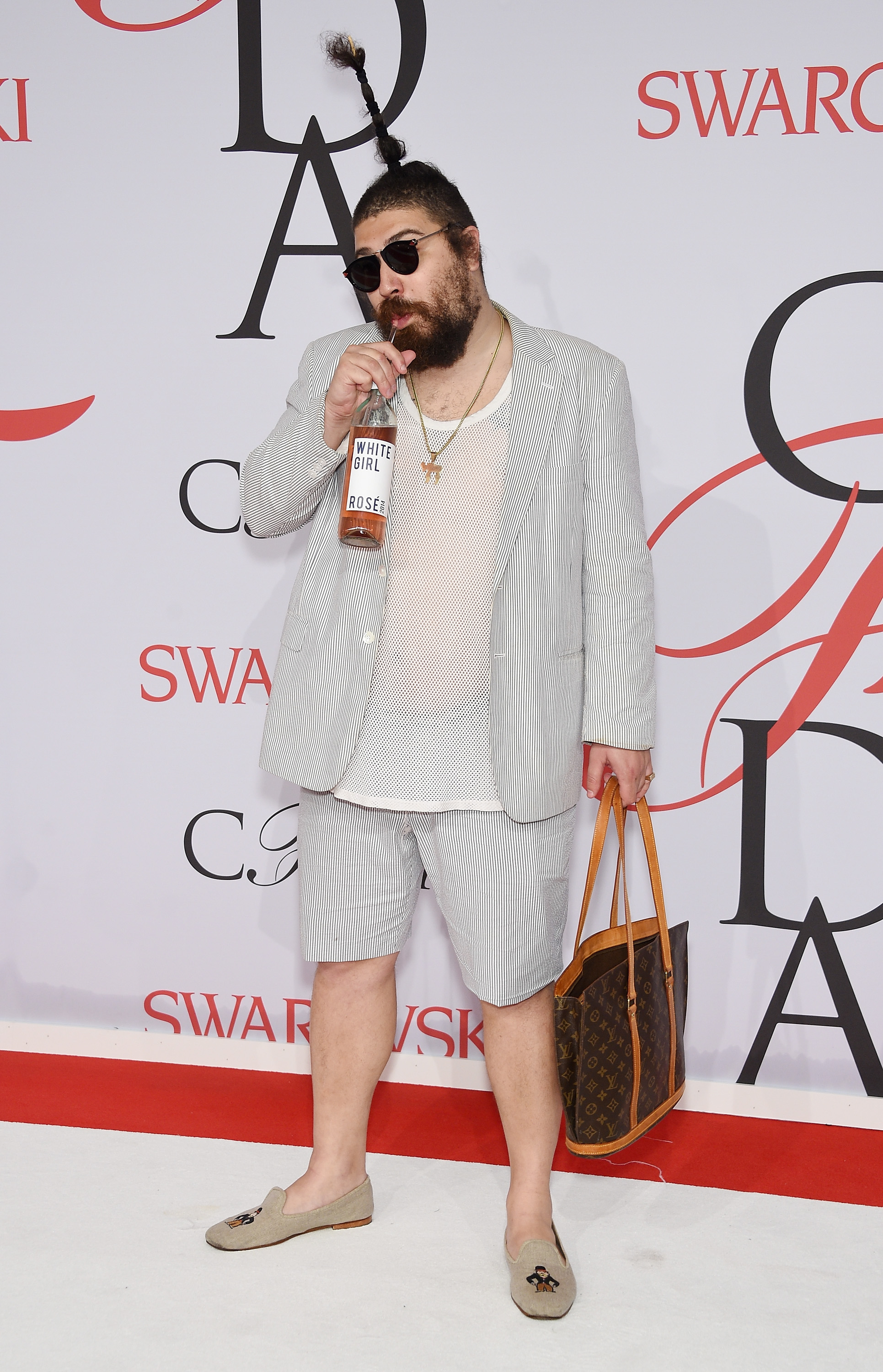 The Fat Jew attends the 2015 CFDA Fashion Awards  at Alice Tully Hall at Lincoln Center on June 1, 2015, in New York City.