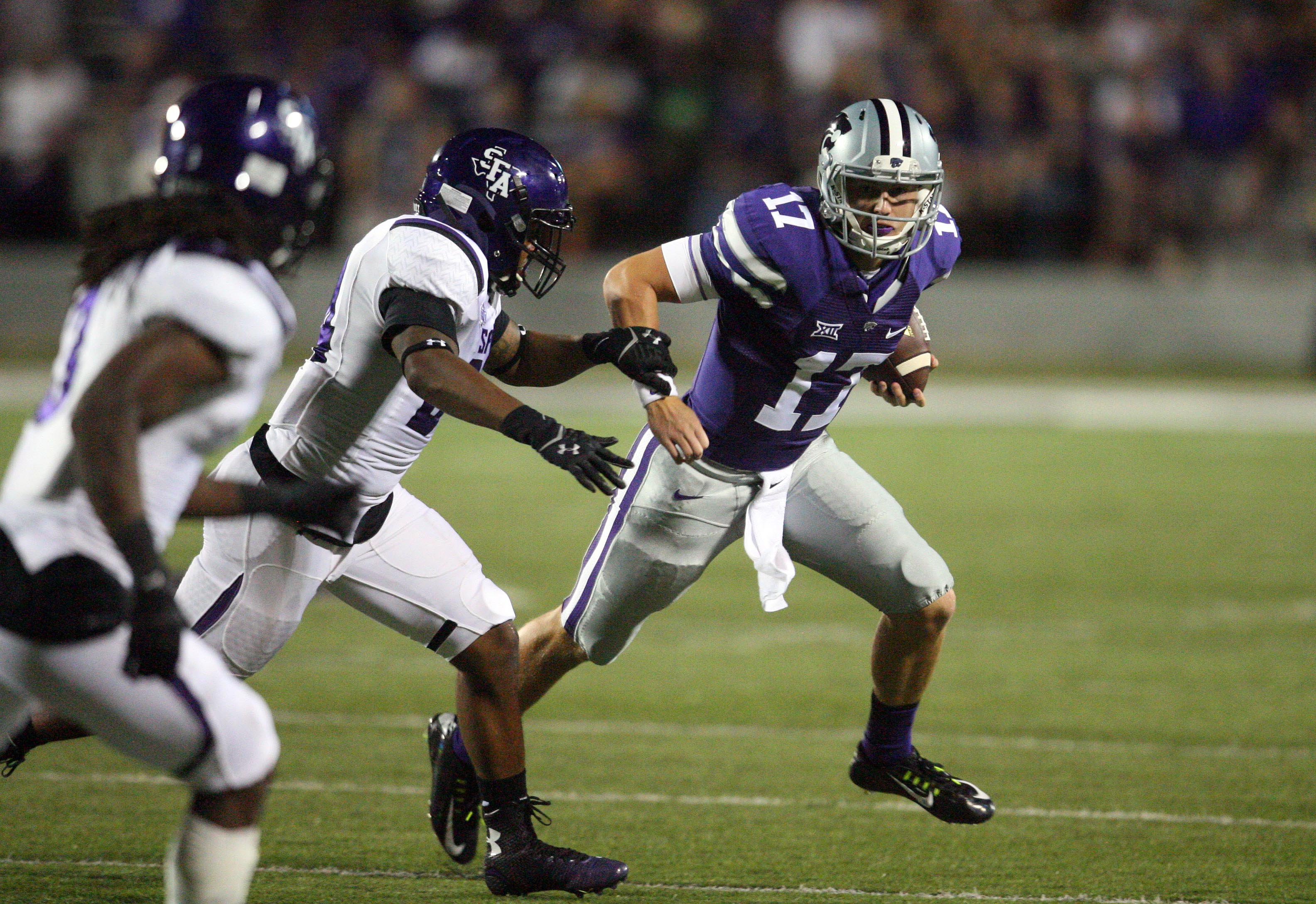 I said you wouldn't have to wait long to read a Countdown post for K-State's likely starting quarterback in 2015, and I always keep my promises.