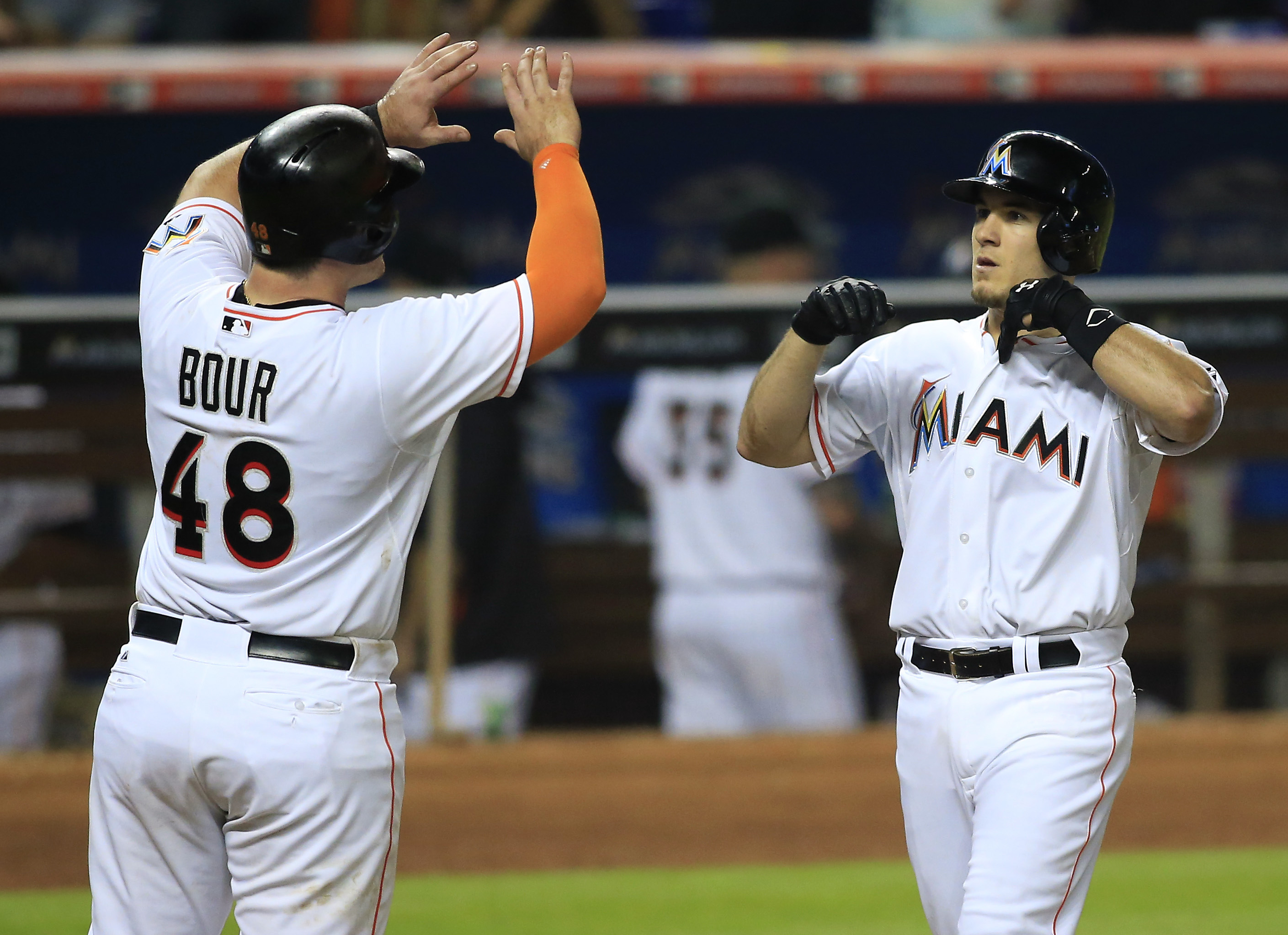 Justin Bour and J.T. Realmuto