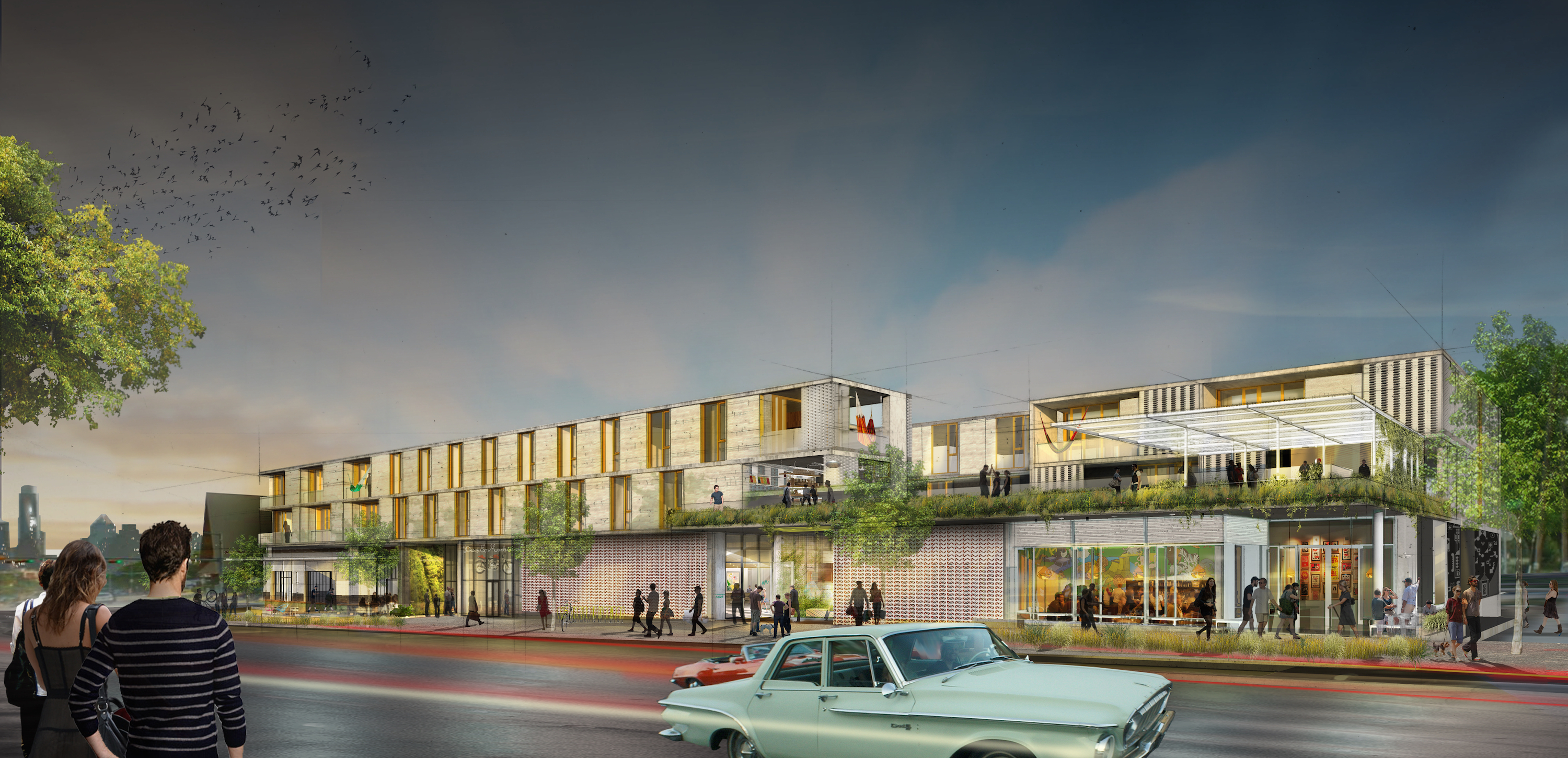 Rendering of South Congress Hotel
