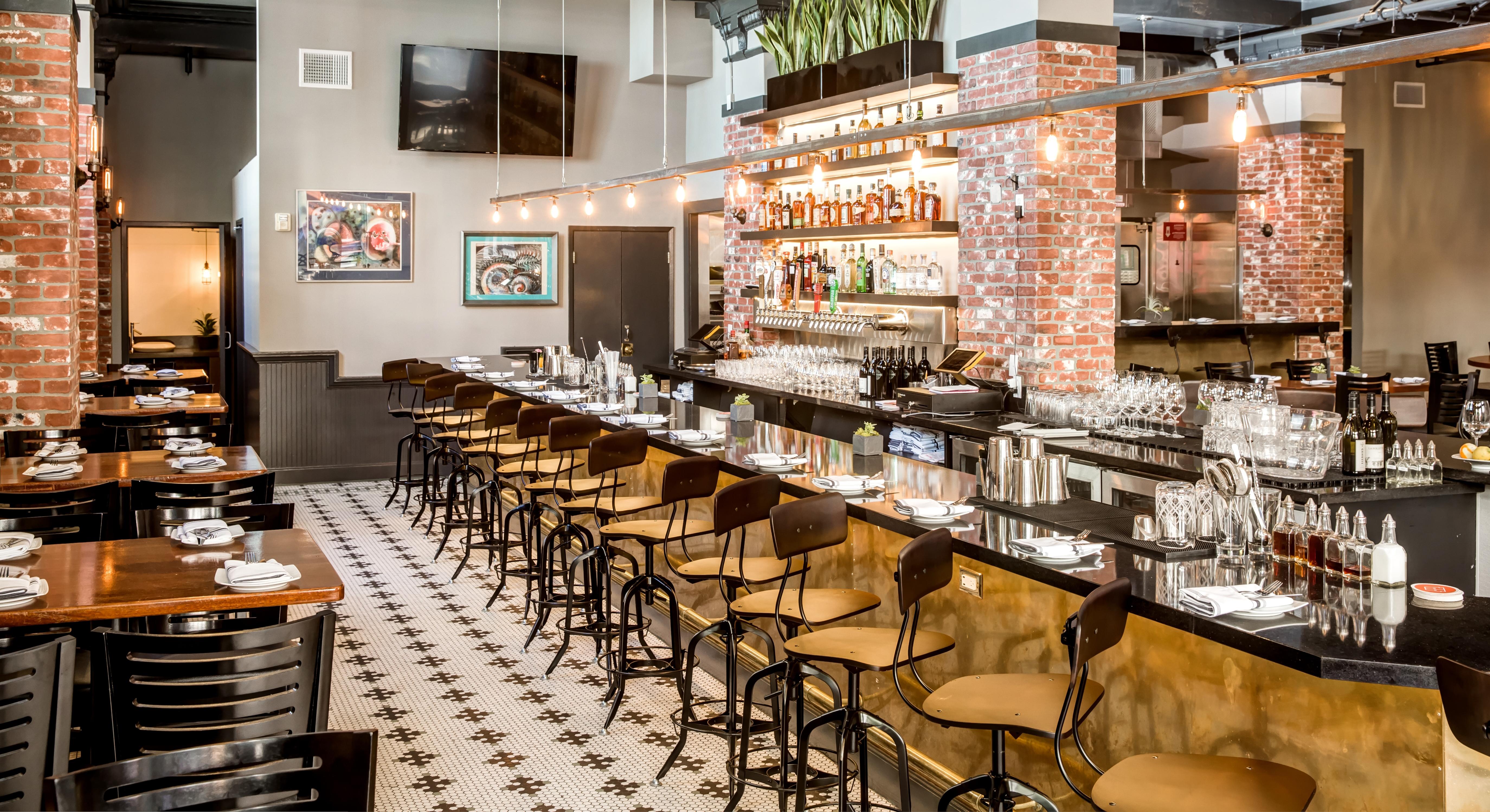 The Keystone's bar.